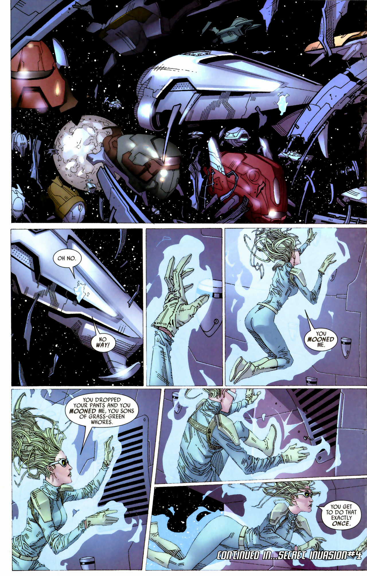 Read online Secret Invasion: Who Do You Trust? comic -  Issue # Full - 20