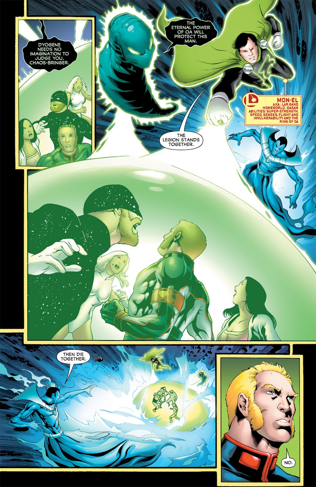Legion of Super-Heroes (2010) Issue #16 #17 - English 12