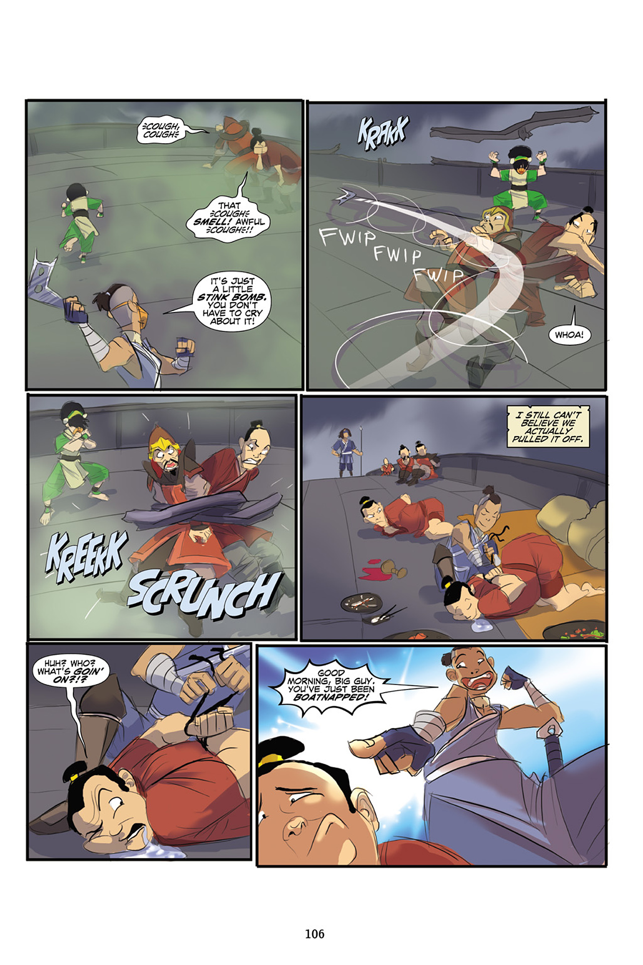 Nickelodeon Avatar: The Last Airbender - The Lost Adventures chap full pic 107
