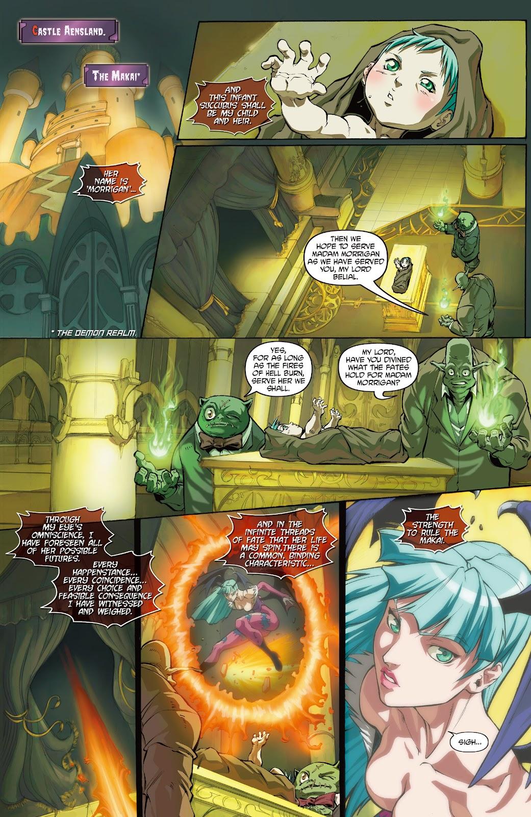 Darkstalkers Issue #0 #1 - English 3