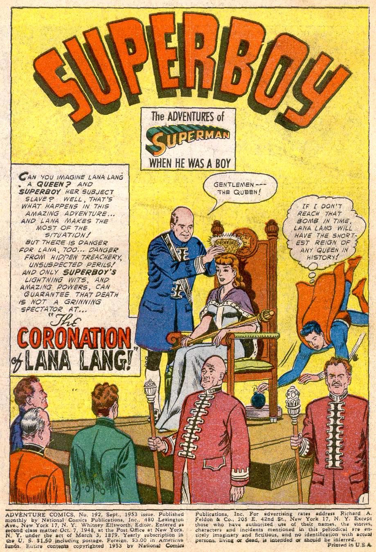 Read online Adventure Comics (1938) comic -  Issue #192 - 3