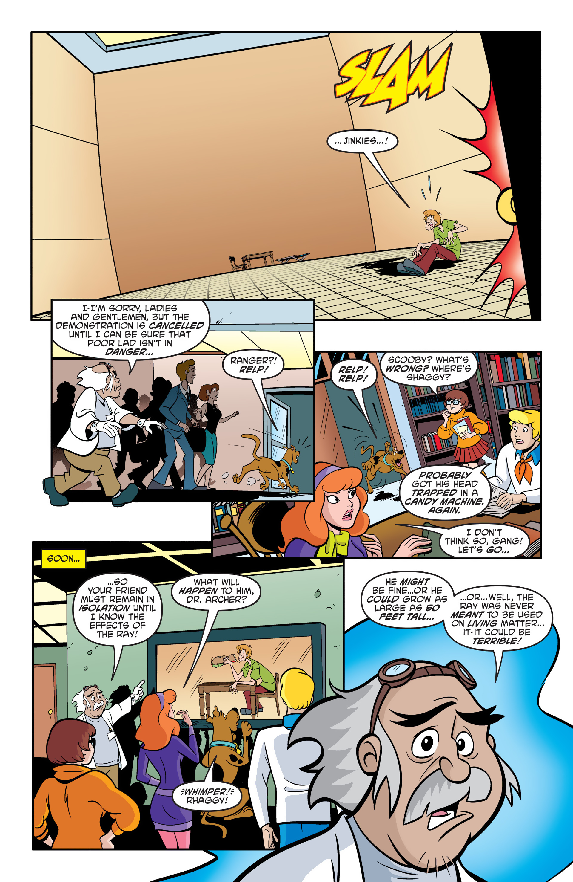 Read online Scooby-Doo: Where Are You? comic -  Issue #49 - 15