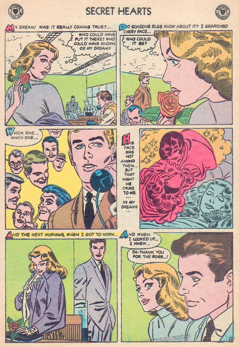 Read online Secret Hearts comic -  Issue #44 - 5