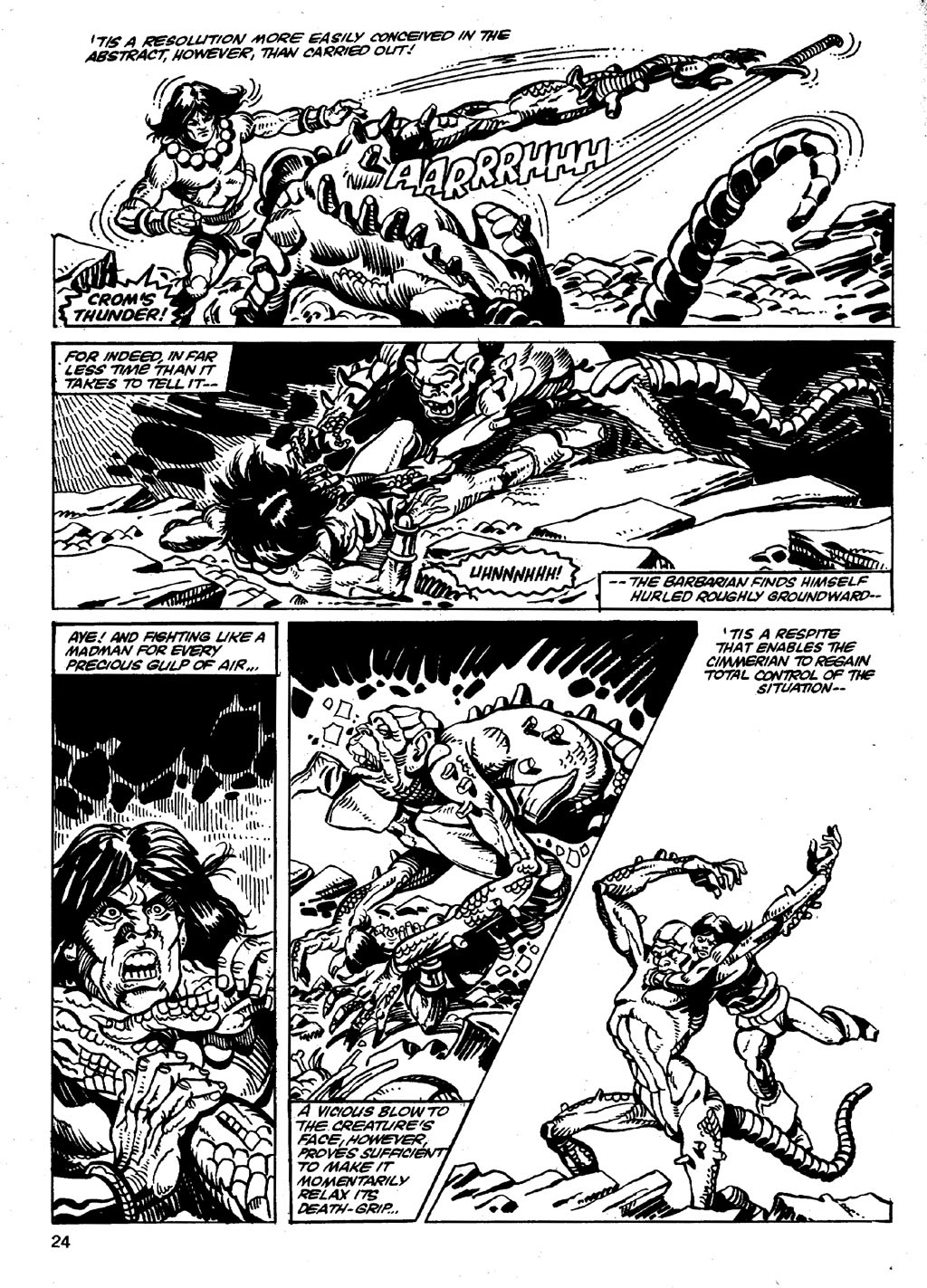 The Savage Sword Of Conan Issue #86 #87 - English 24
