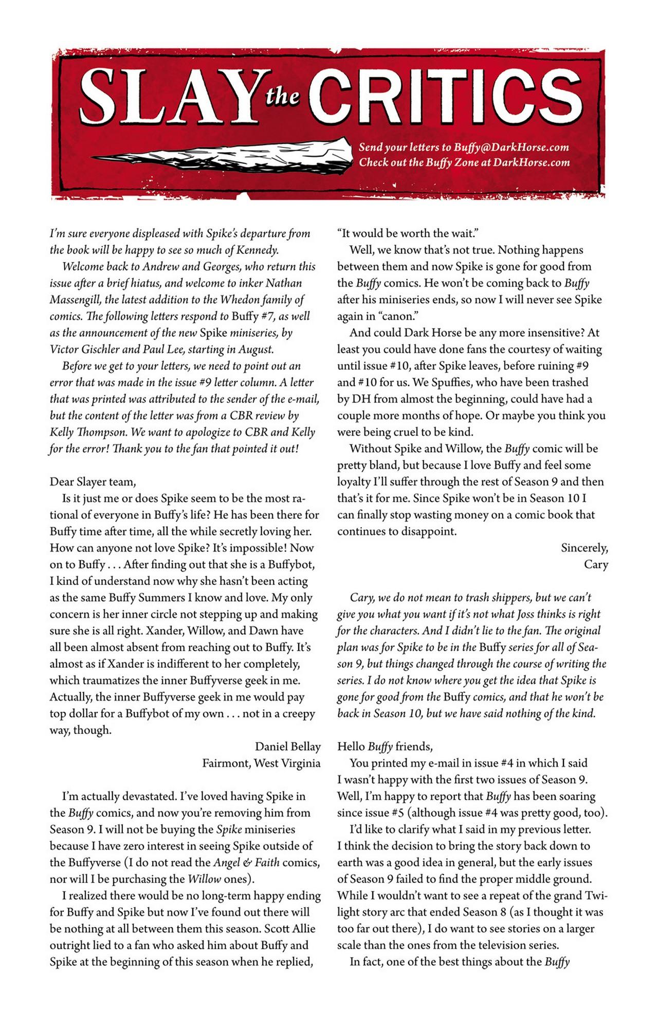 Read online Buffy the Vampire Slayer Season Nine comic -  Issue #11 - 25