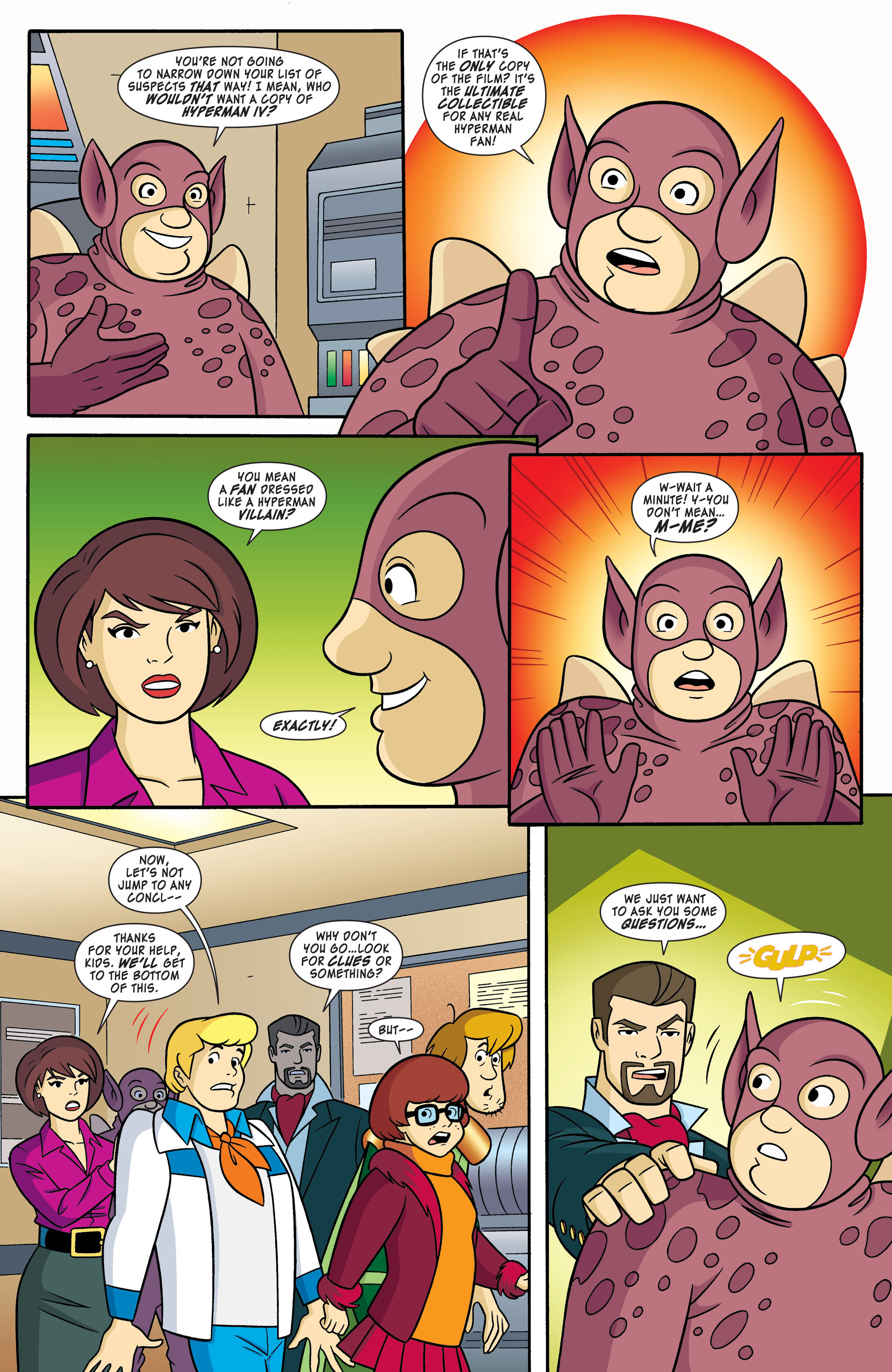 Read online Scooby-Doo: Where Are You? comic -  Issue #55 - 6