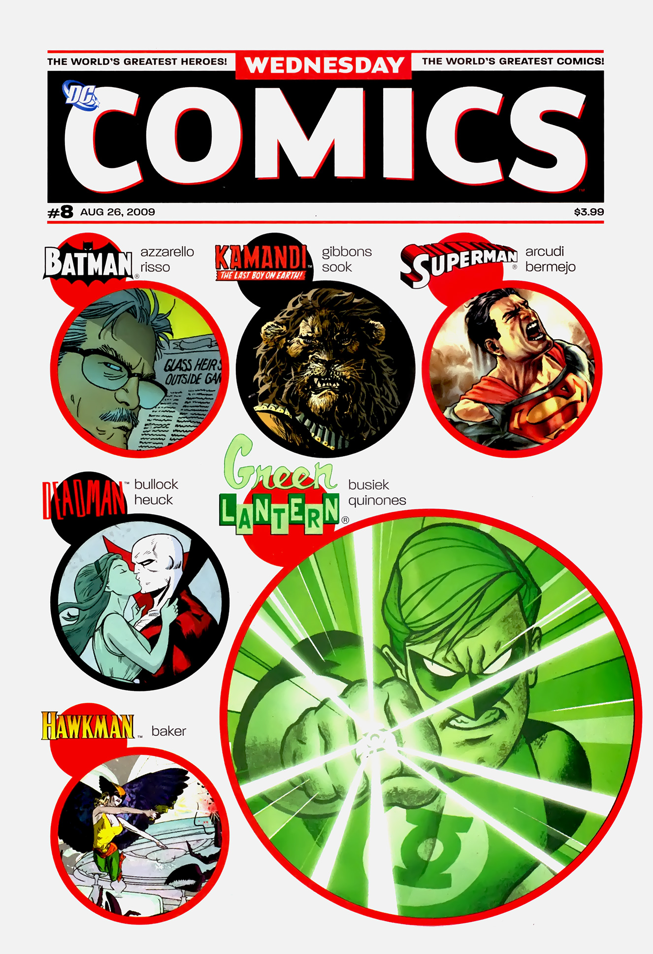 Read online Wednesday Comics comic -  Issue #8 - 1