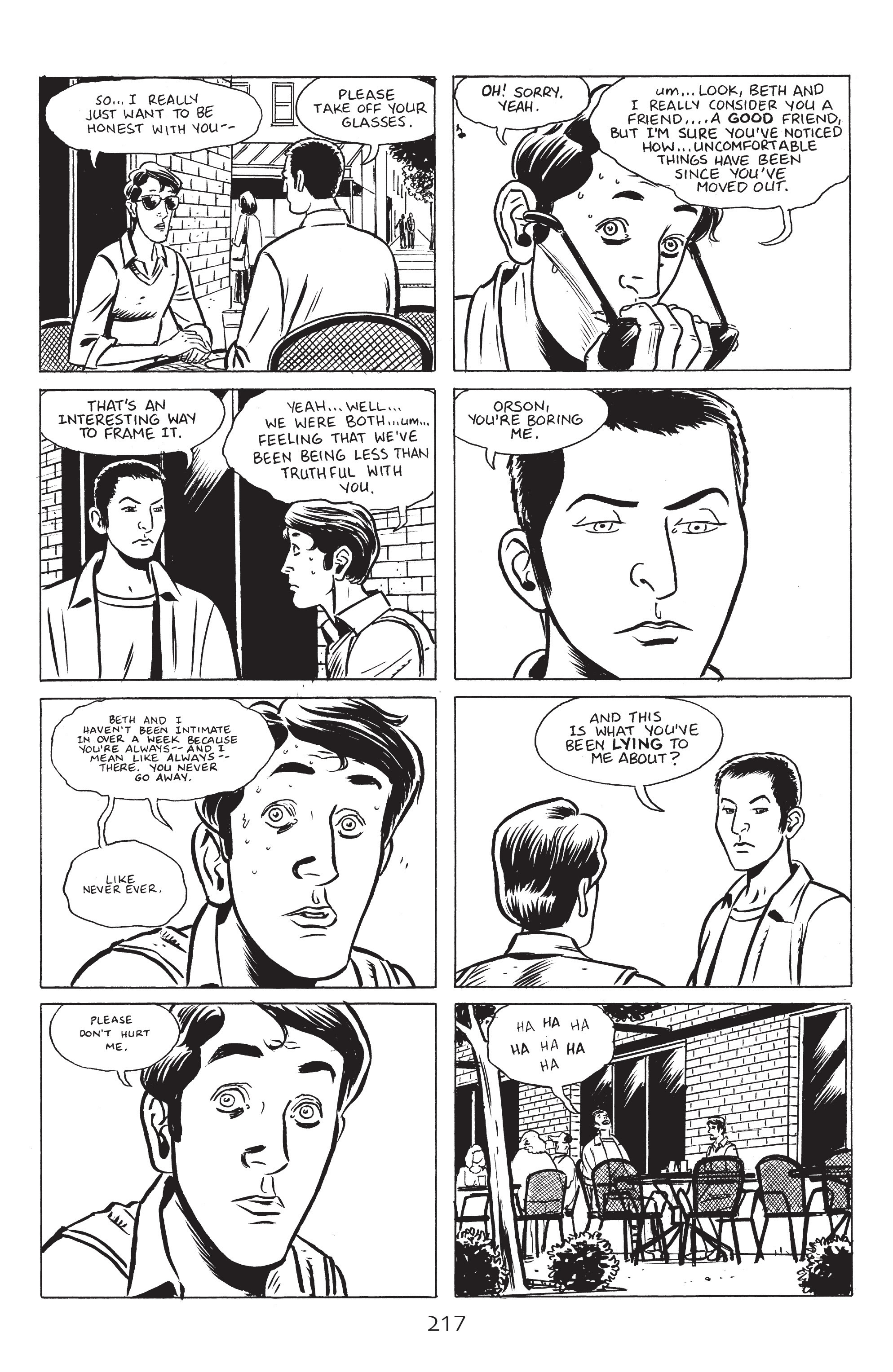 Read online Stray Bullets: Sunshine & Roses comic -  Issue #8 - 23