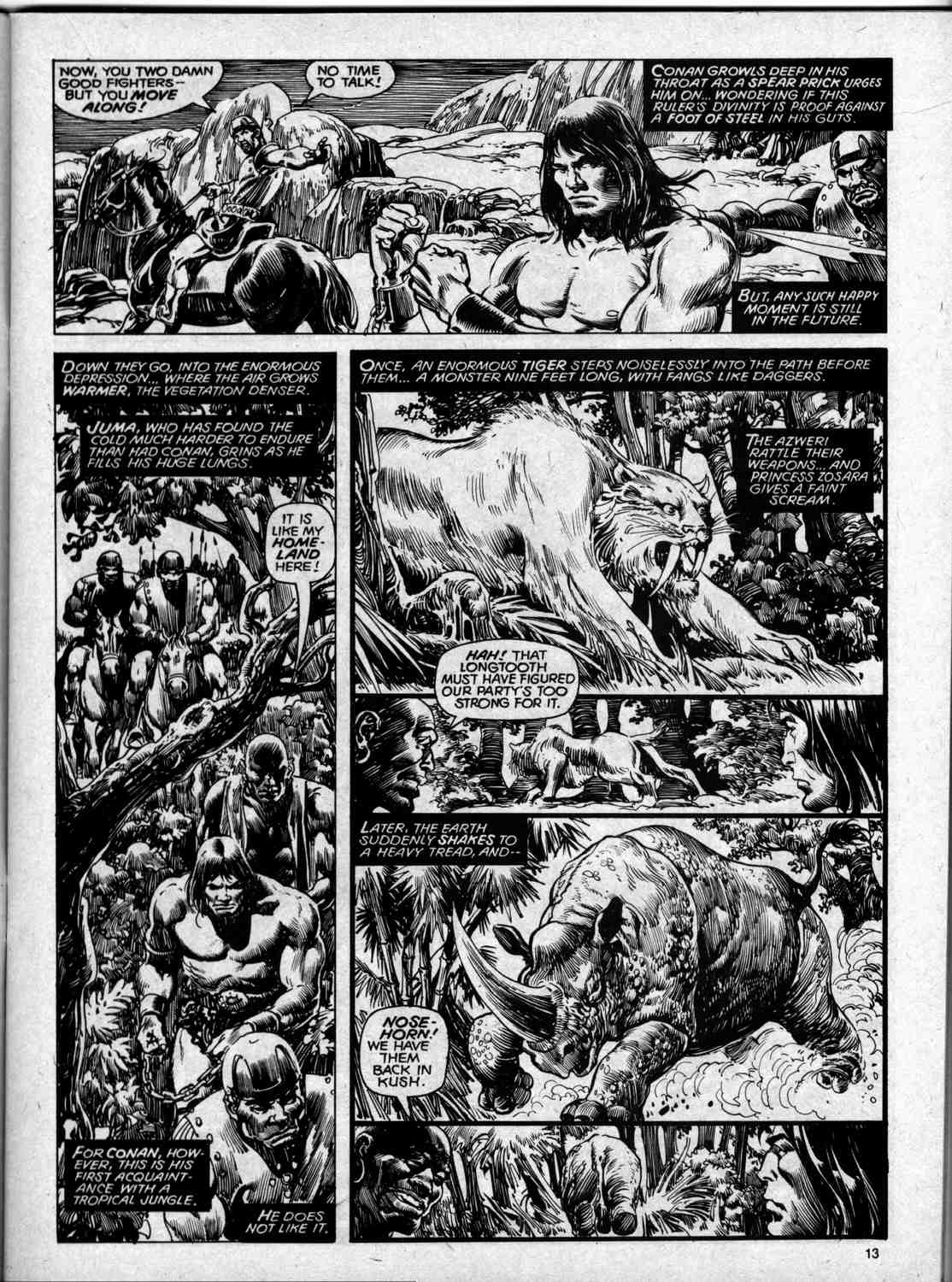 The Savage Sword Of Conan Issue #59 #60 - English 13