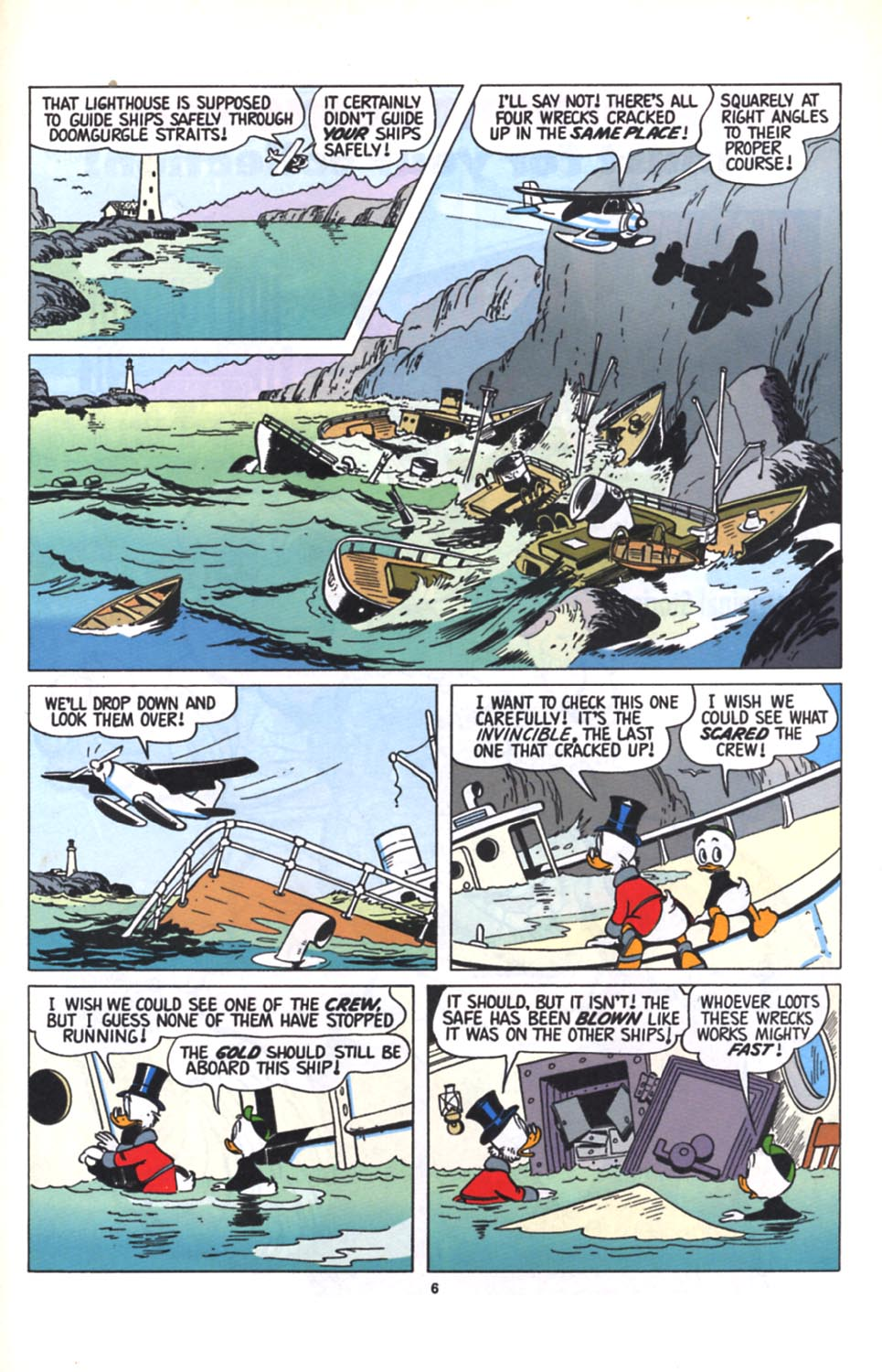 Uncle Scrooge (1953) Issue #280 #280 - English 7