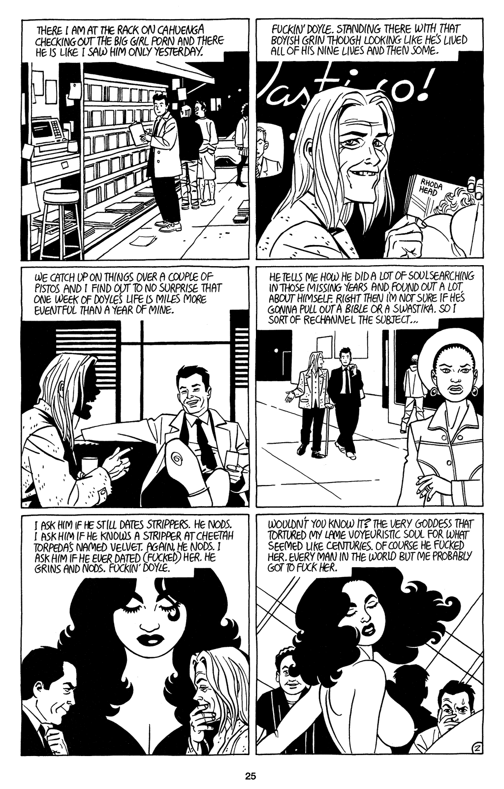 Read online Love and Rockets (2001) comic -  Issue #4 - 26