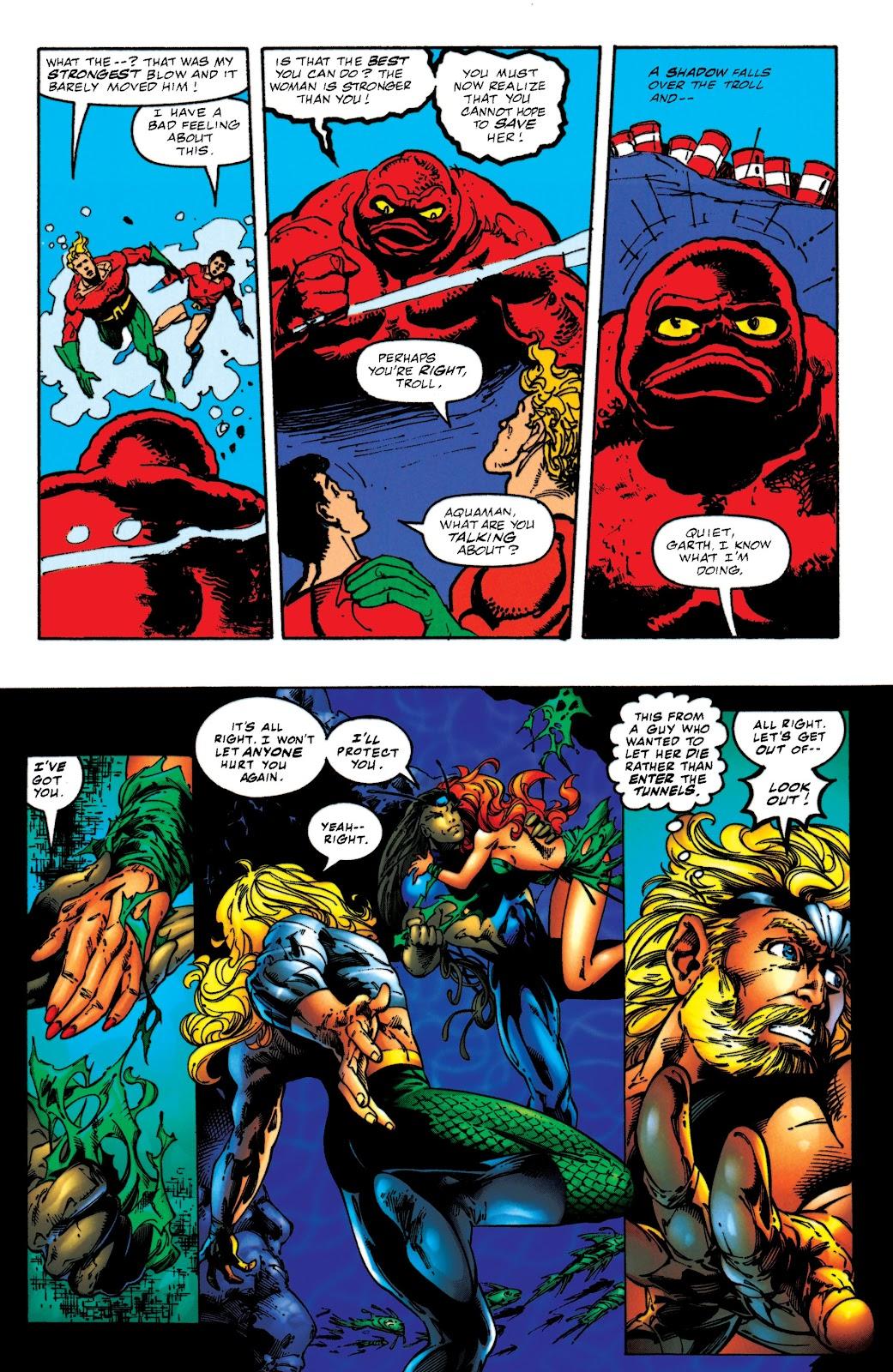 Aquaman (1994) Issue #52 #58 - English 20