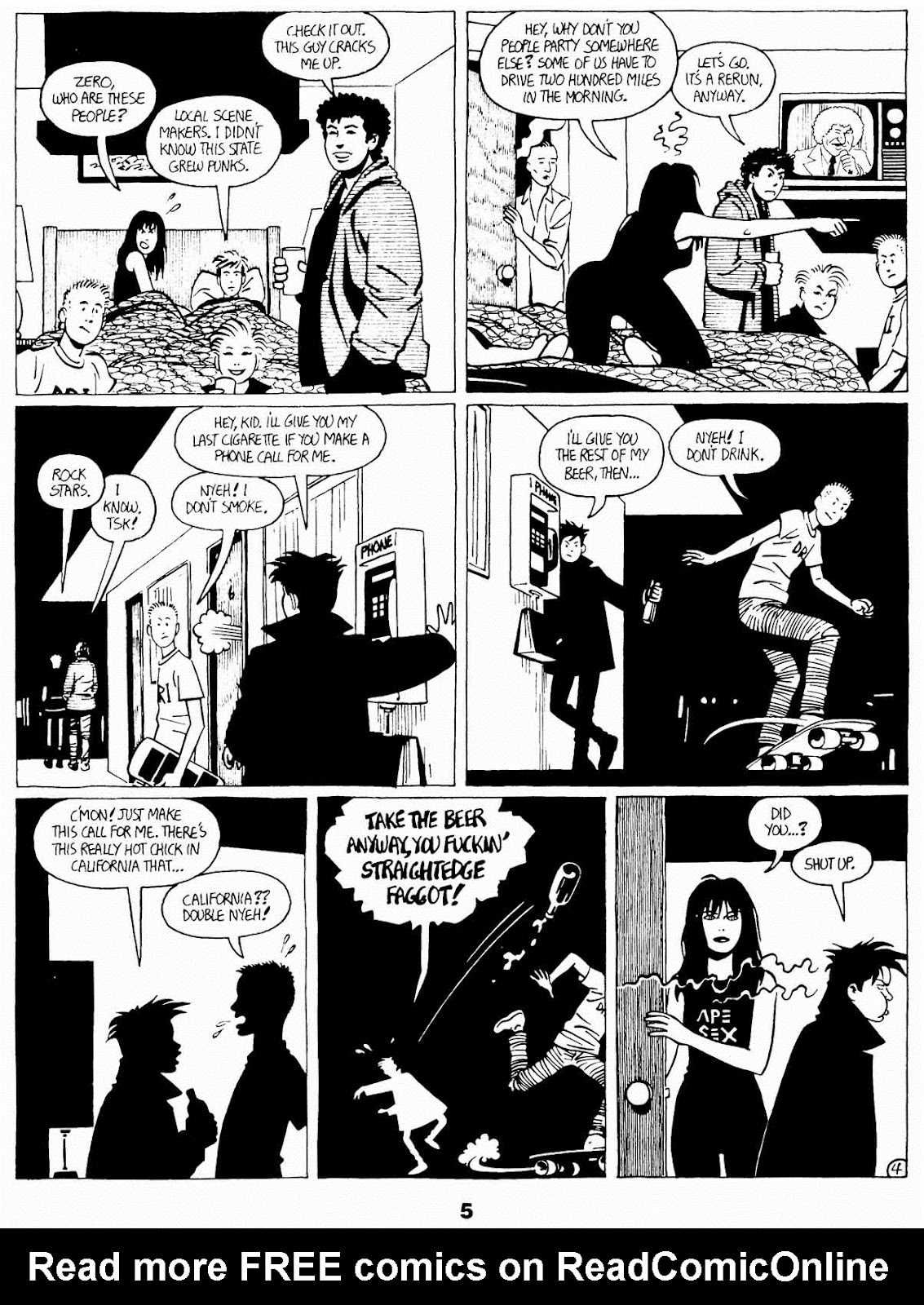Love and Rockets (1982) Issue #21 #20 - English 7