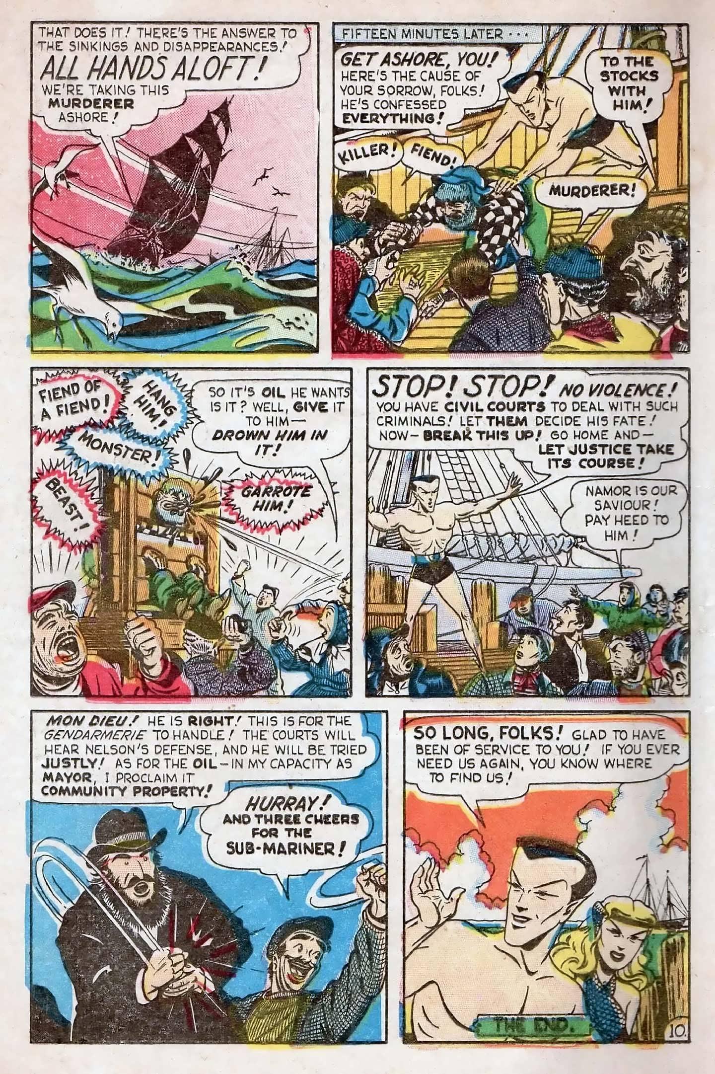Sub-Mariner Comics #27 #27 - English 12