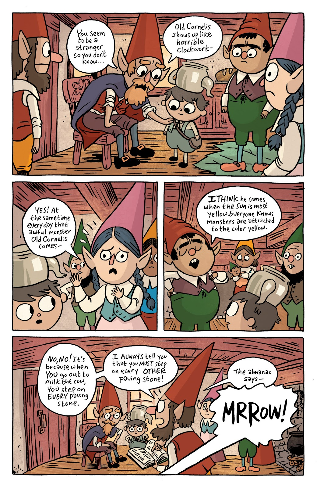 Over the Garden Wall (2016) Issue #1 #1 - English 8
