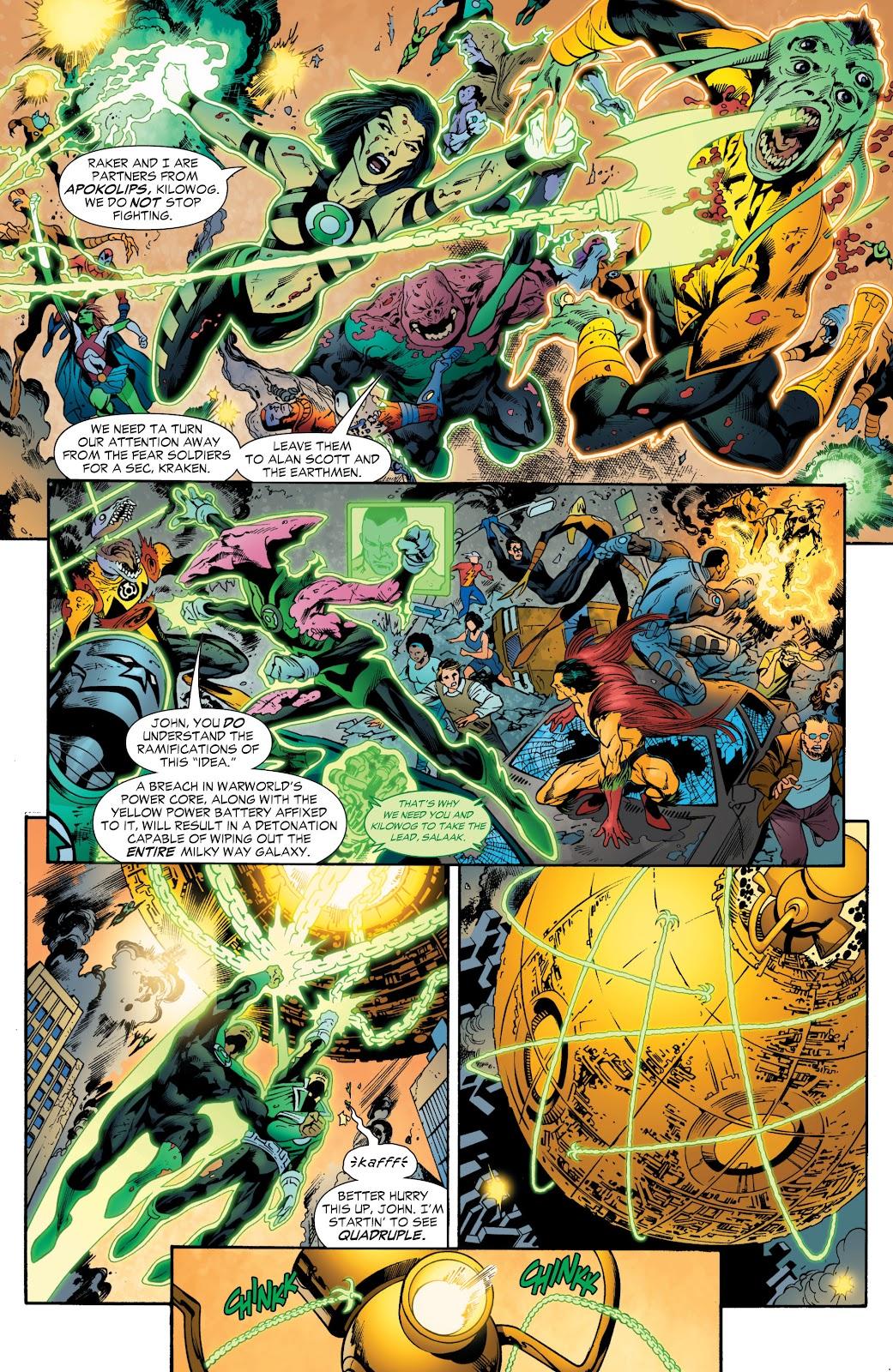 Green Lantern: The Sinestro Corps War Full #1 - English 268