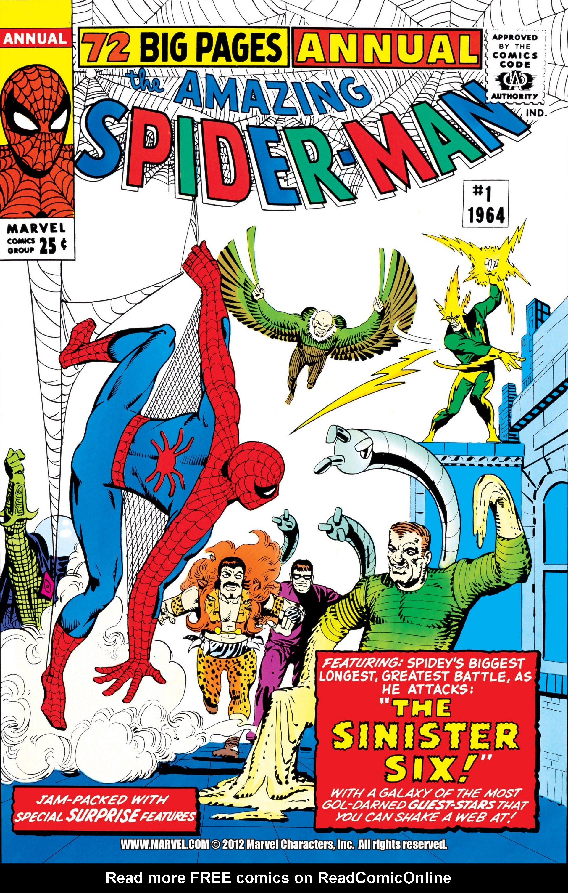 The Amazing Spider-Man (1963) _Annual_1 Page 1