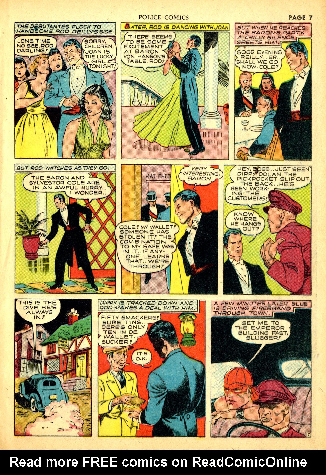 Police Comics #1 #127 - English 10