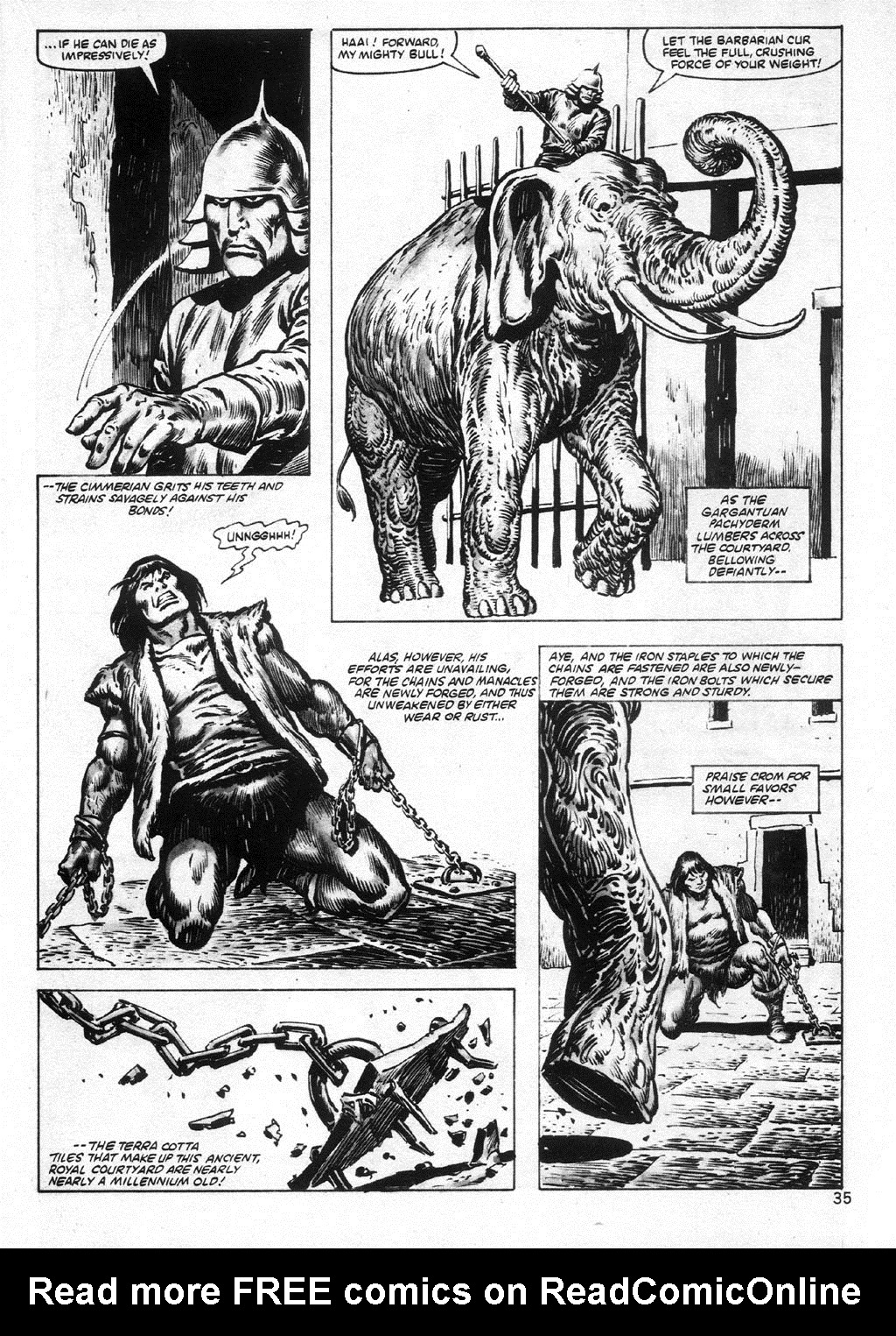 The Savage Sword Of Conan Issue #95 #96 - English 35