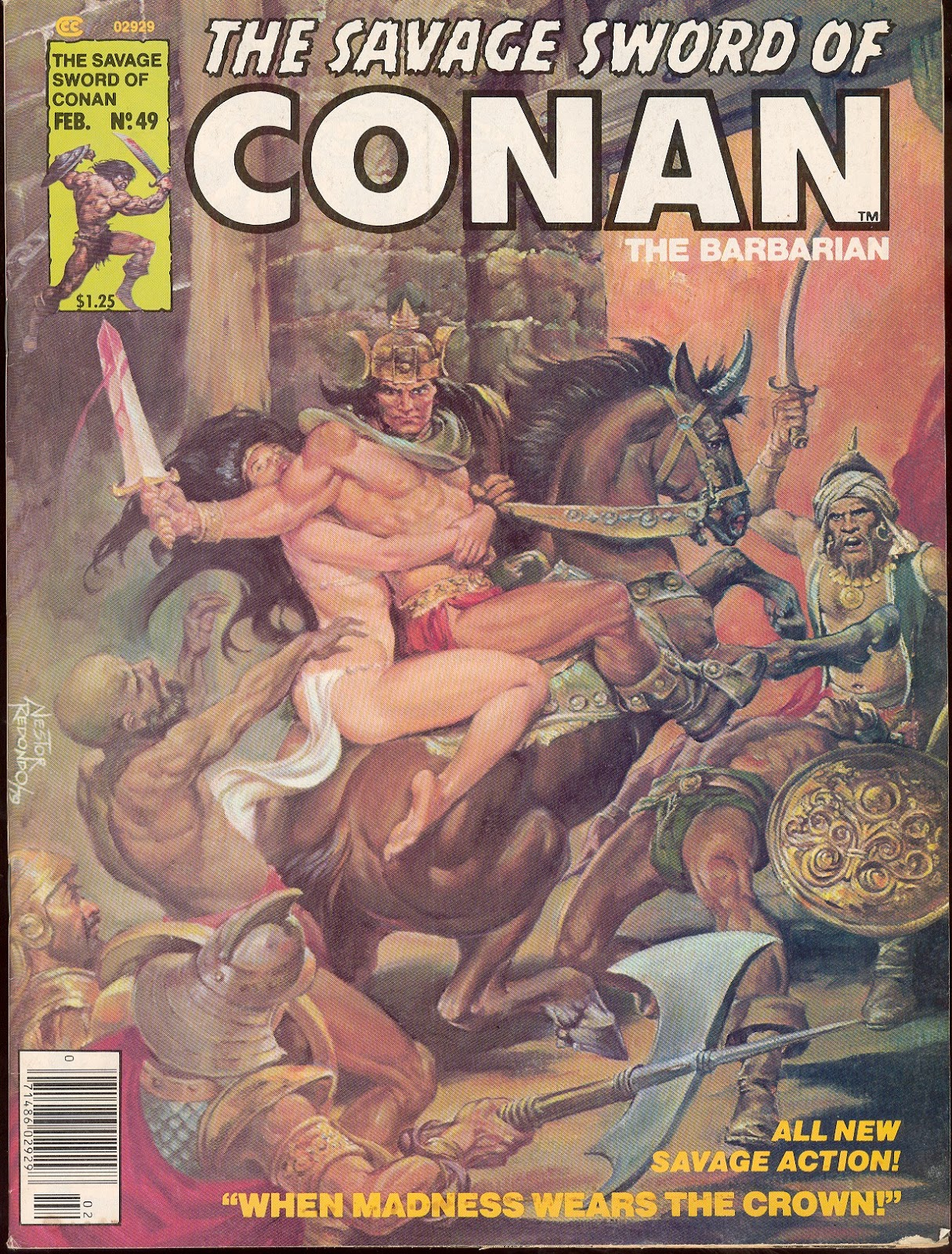 The Savage Sword Of Conan Issue #49 #50 - English 1