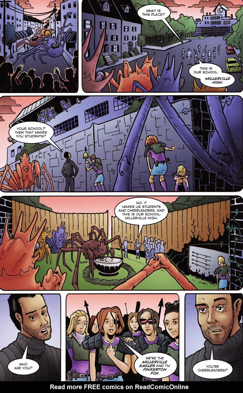 Zombies vs Cheerleaders Issue #2 Page 16