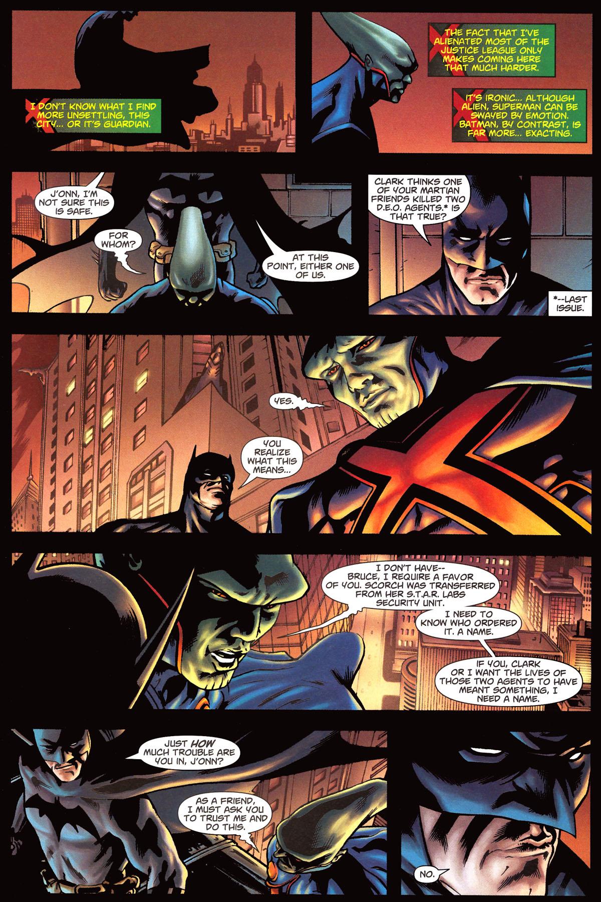 Read online Martian Manhunter (2006) comic -  Issue #6 - 7
