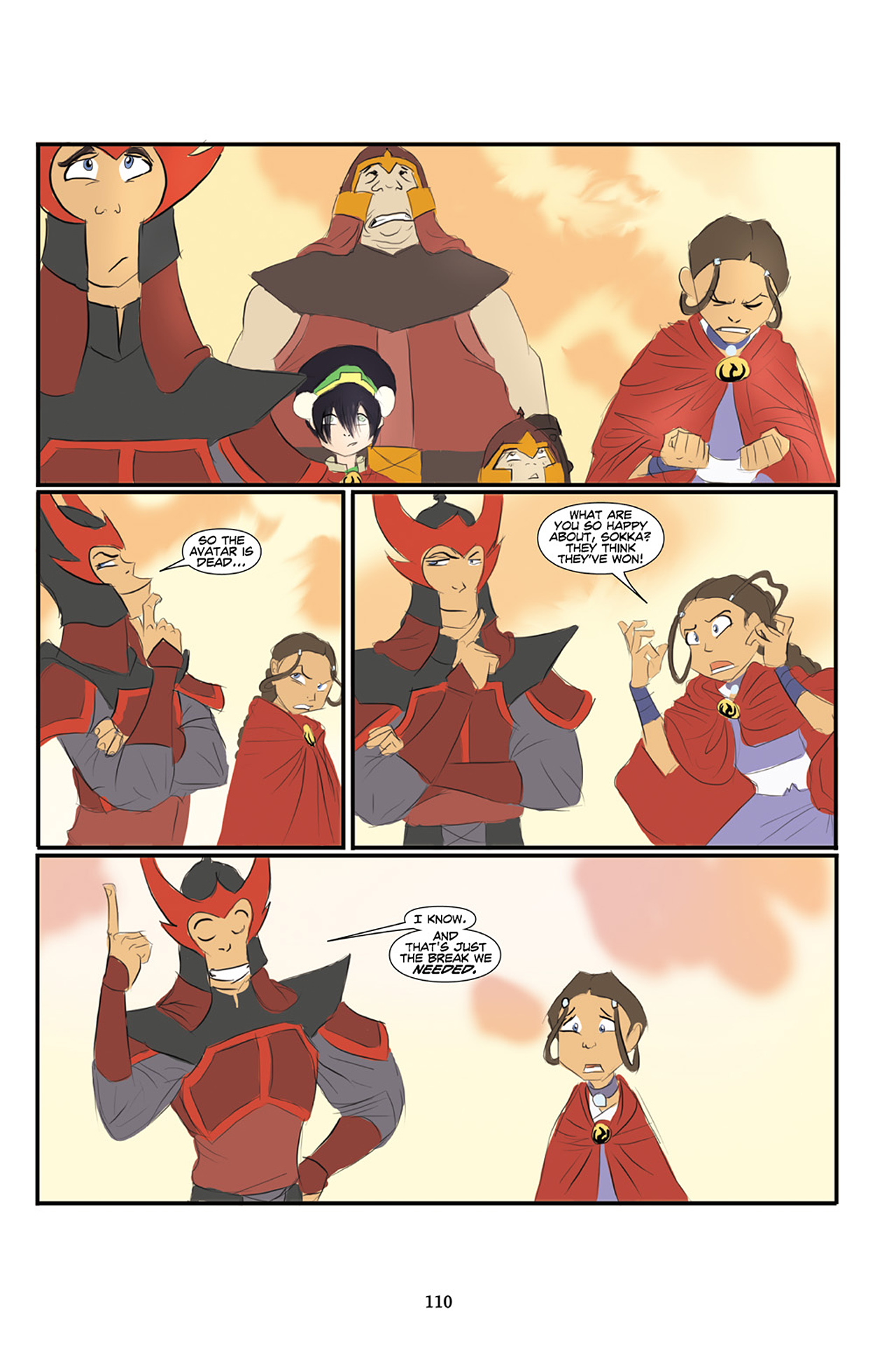 Nickelodeon Avatar: The Last Airbender - The Lost Adventures chap full pic 111