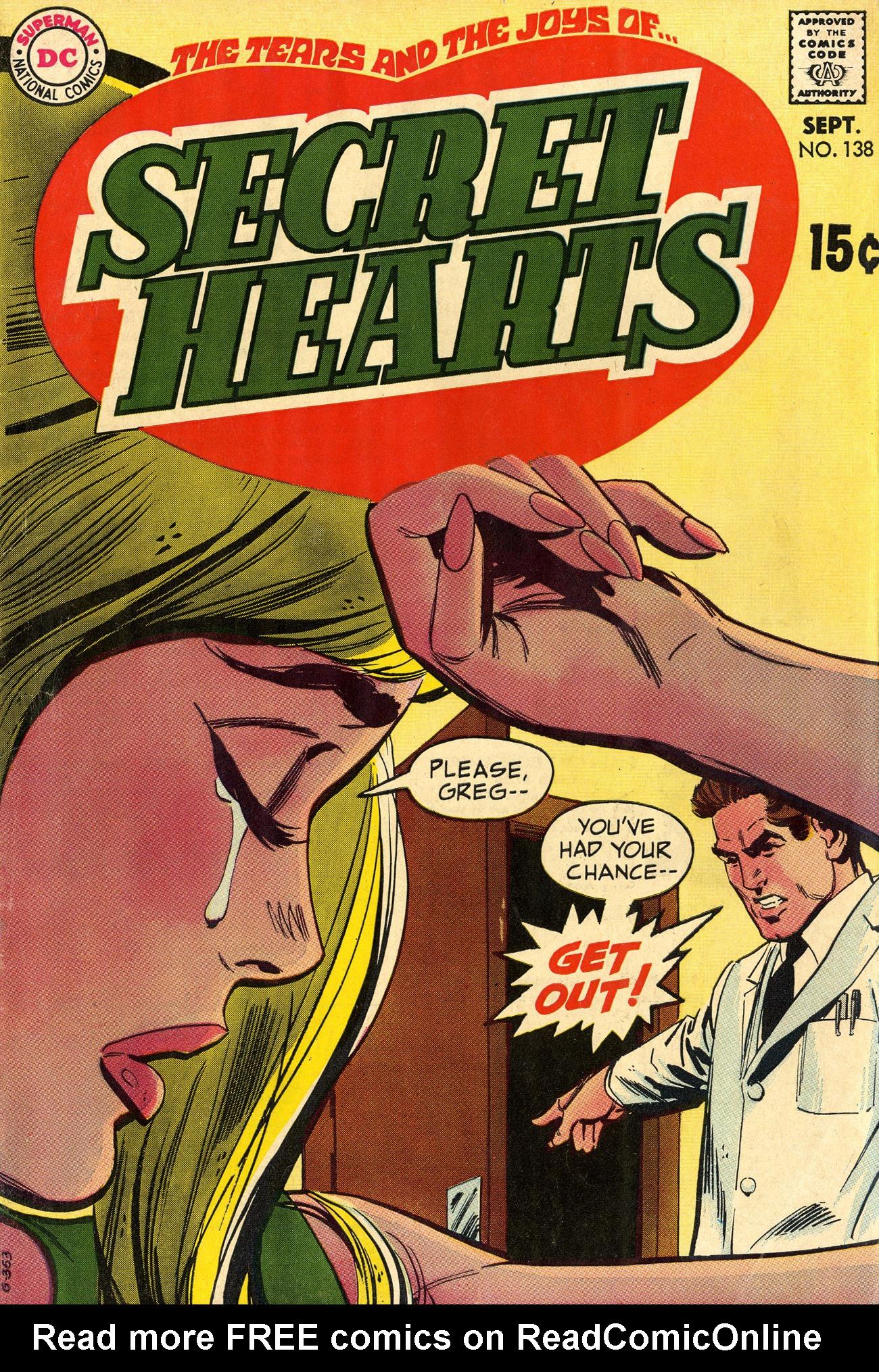 Read online Secret Hearts comic -  Issue #138 - 1