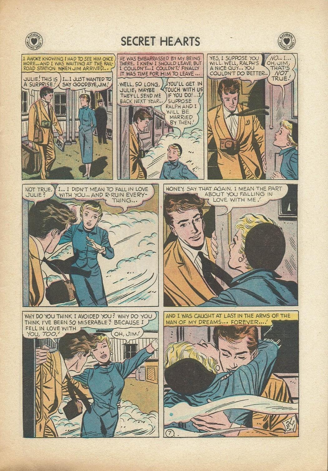Read online Secret Hearts comic -  Issue #47 - 9