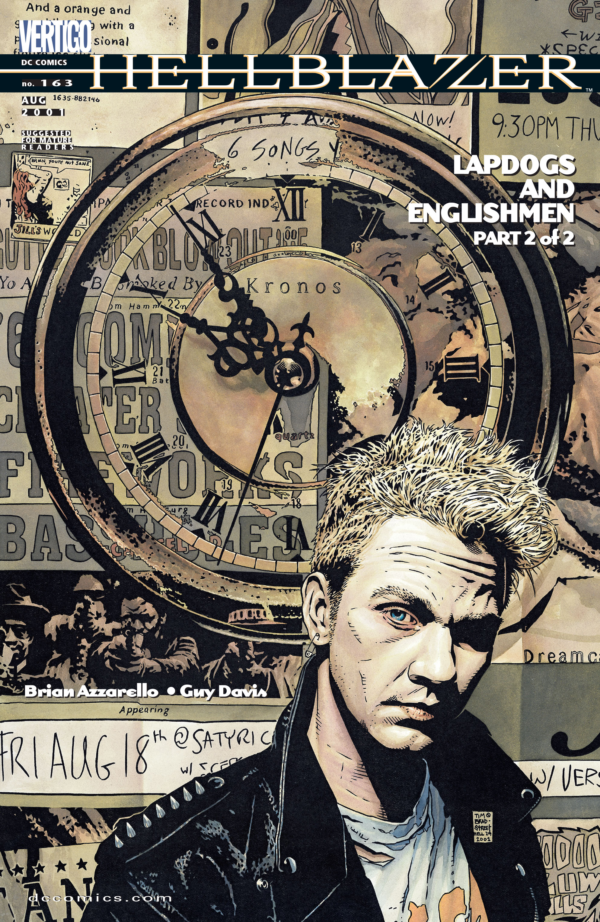 Hellblazer issue 163 - Page 1
