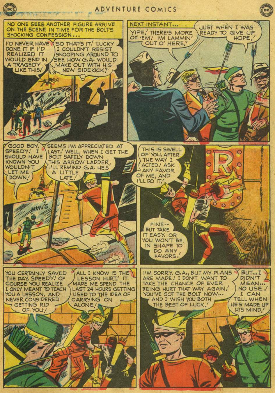 Read online Adventure Comics (1938) comic -  Issue #164 - 45