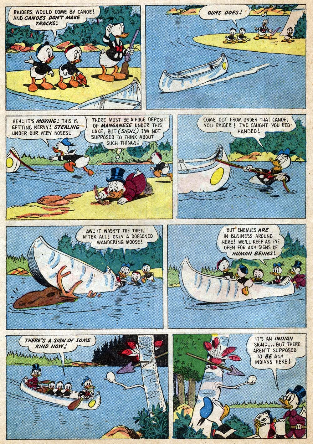 Uncle Scrooge (1953) Issue #18 #18 - English 8