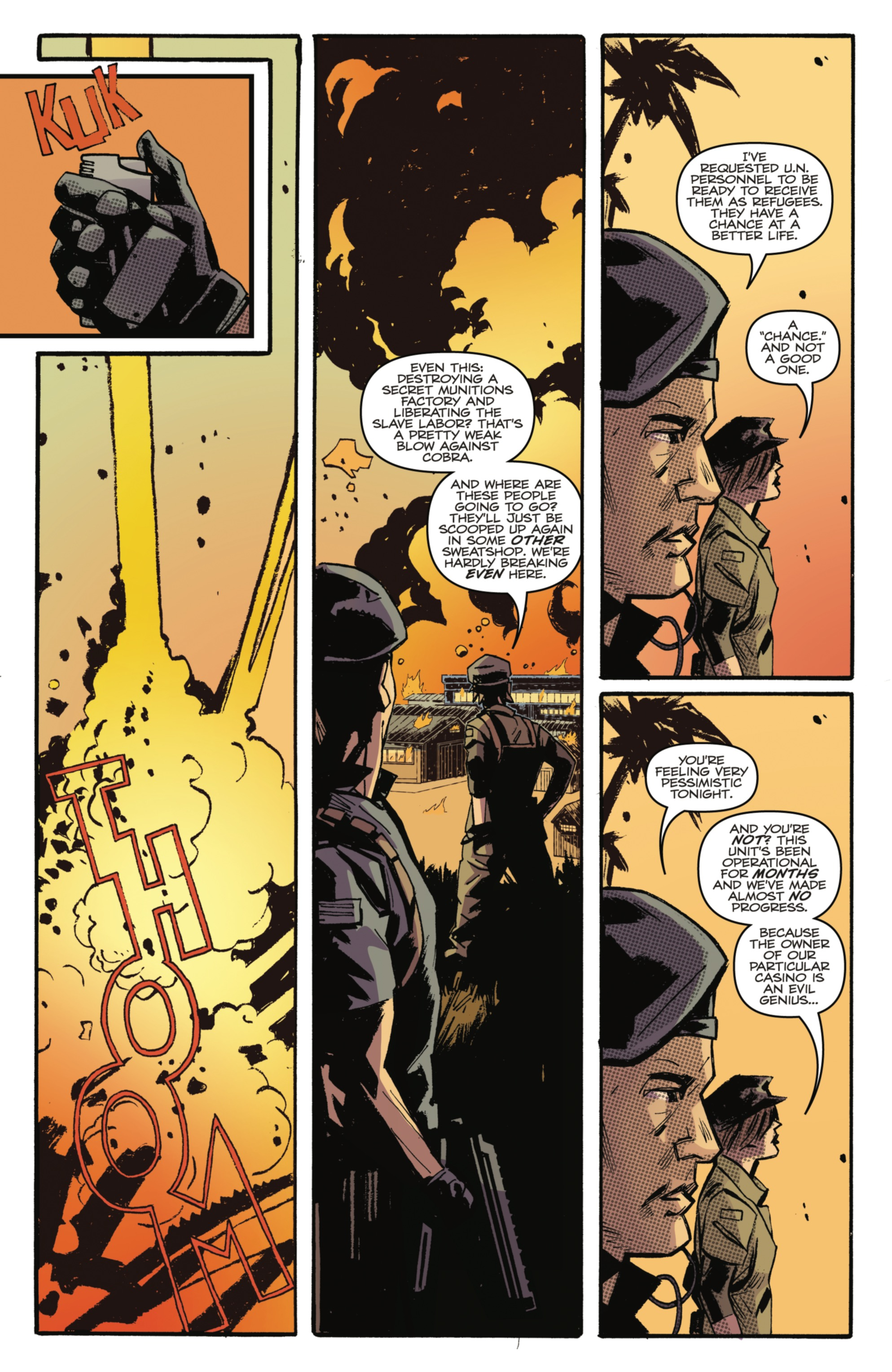 Read online G.I. Joe: The Cobra Files comic -  Issue # TPB 1 - 12