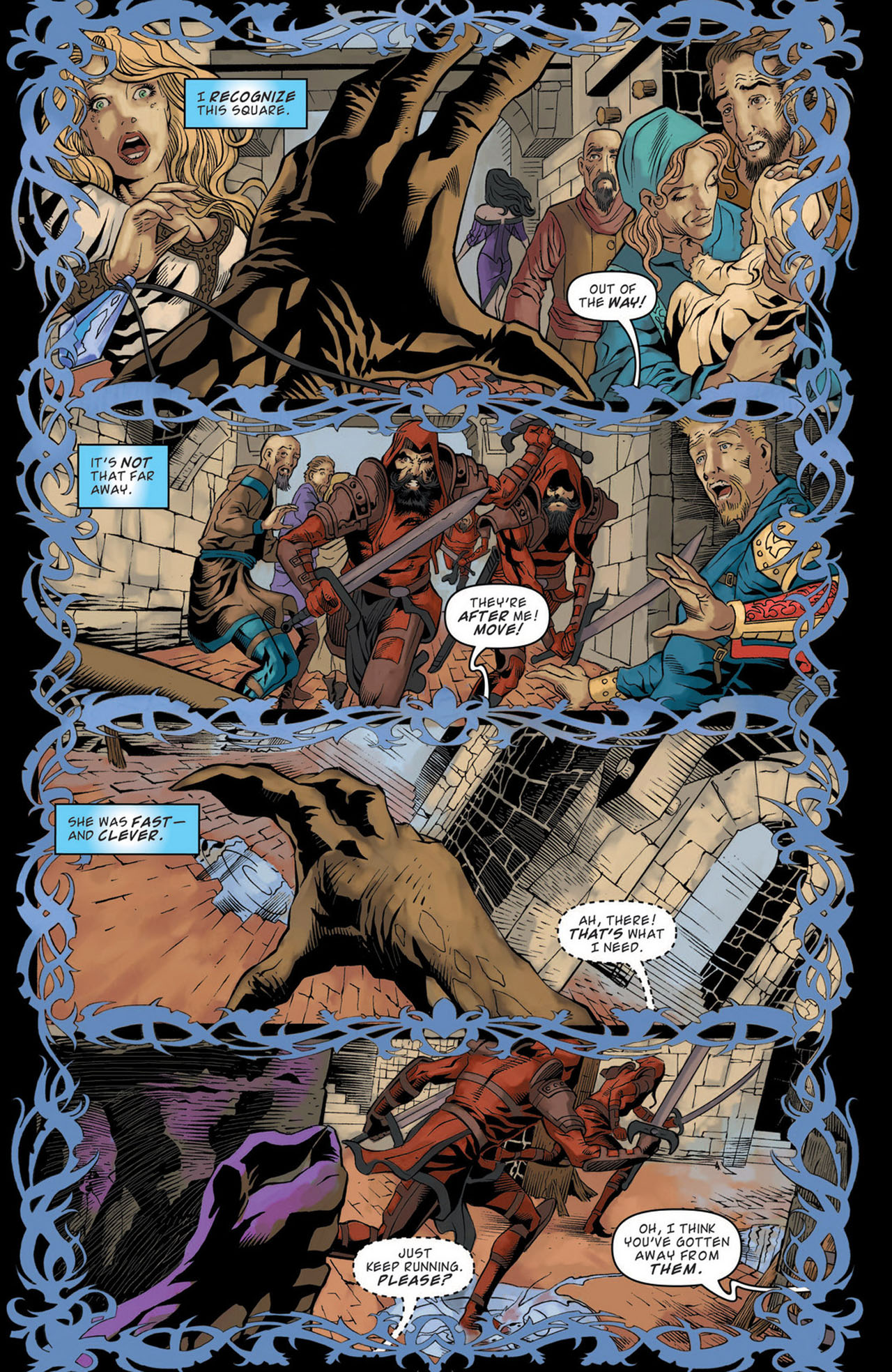 Read online Magic: The Gathering--Path of Vengeance comic -  Issue #1 - 11