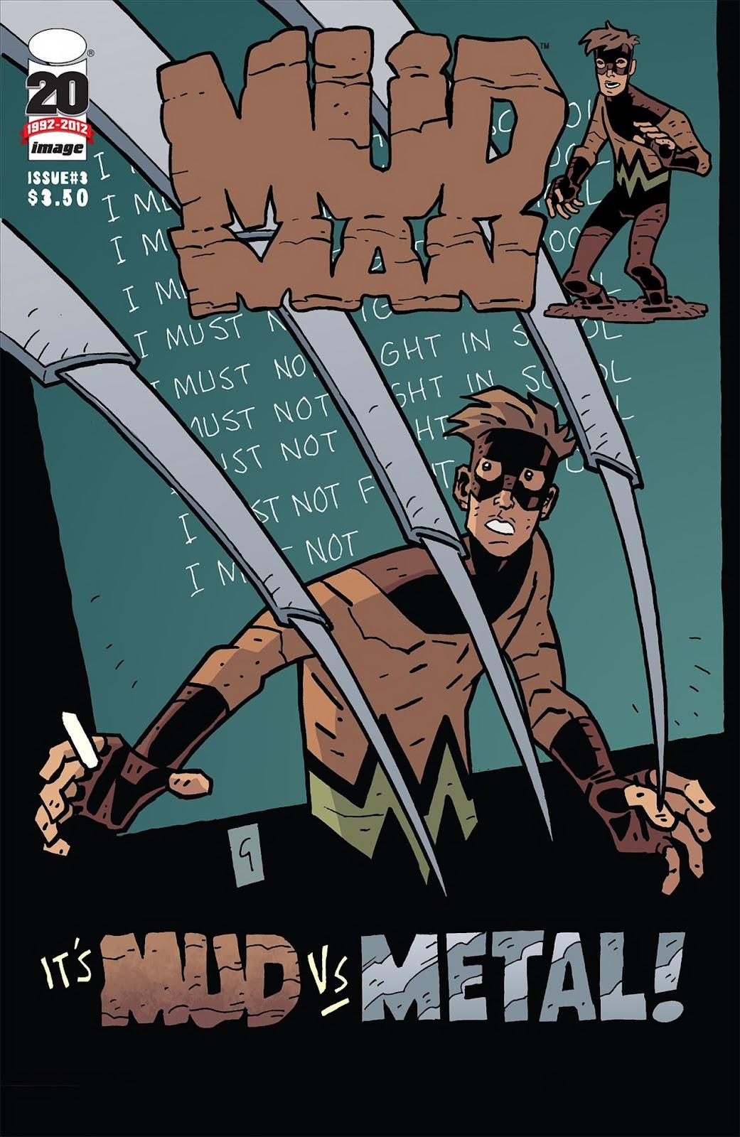 Mudman Issue #3 #3 - English 1