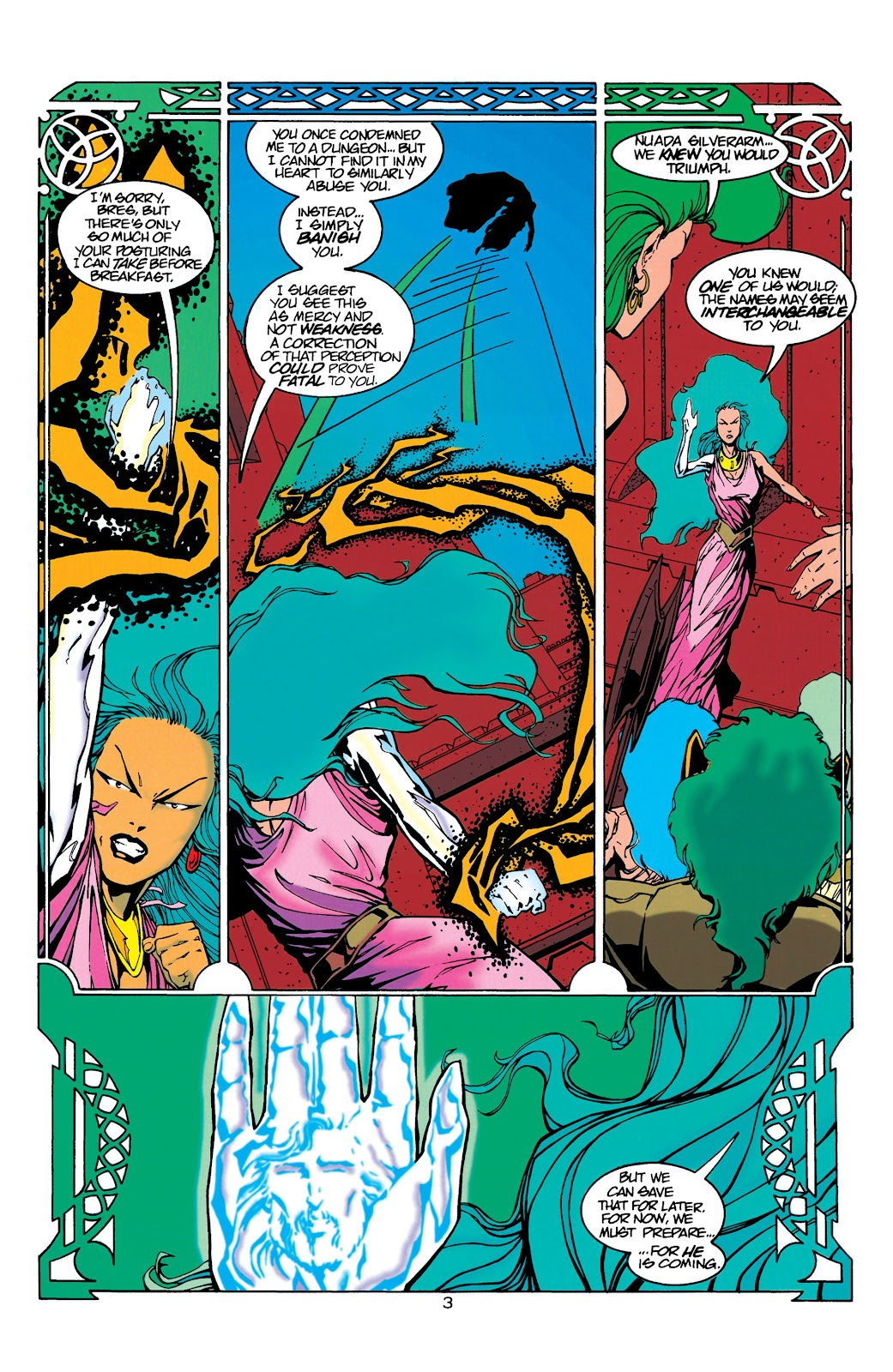 Aquaman (1994) Issue #21 #27 - English 4