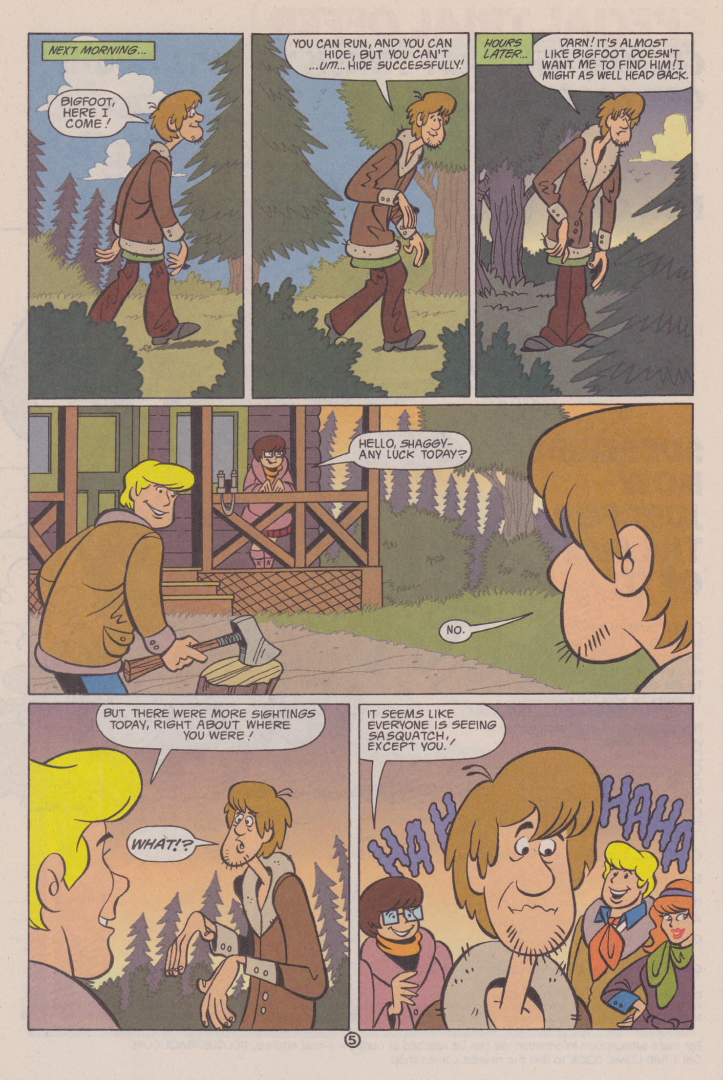 Read online Scooby-Doo (1997) comic -  Issue #10 - 21