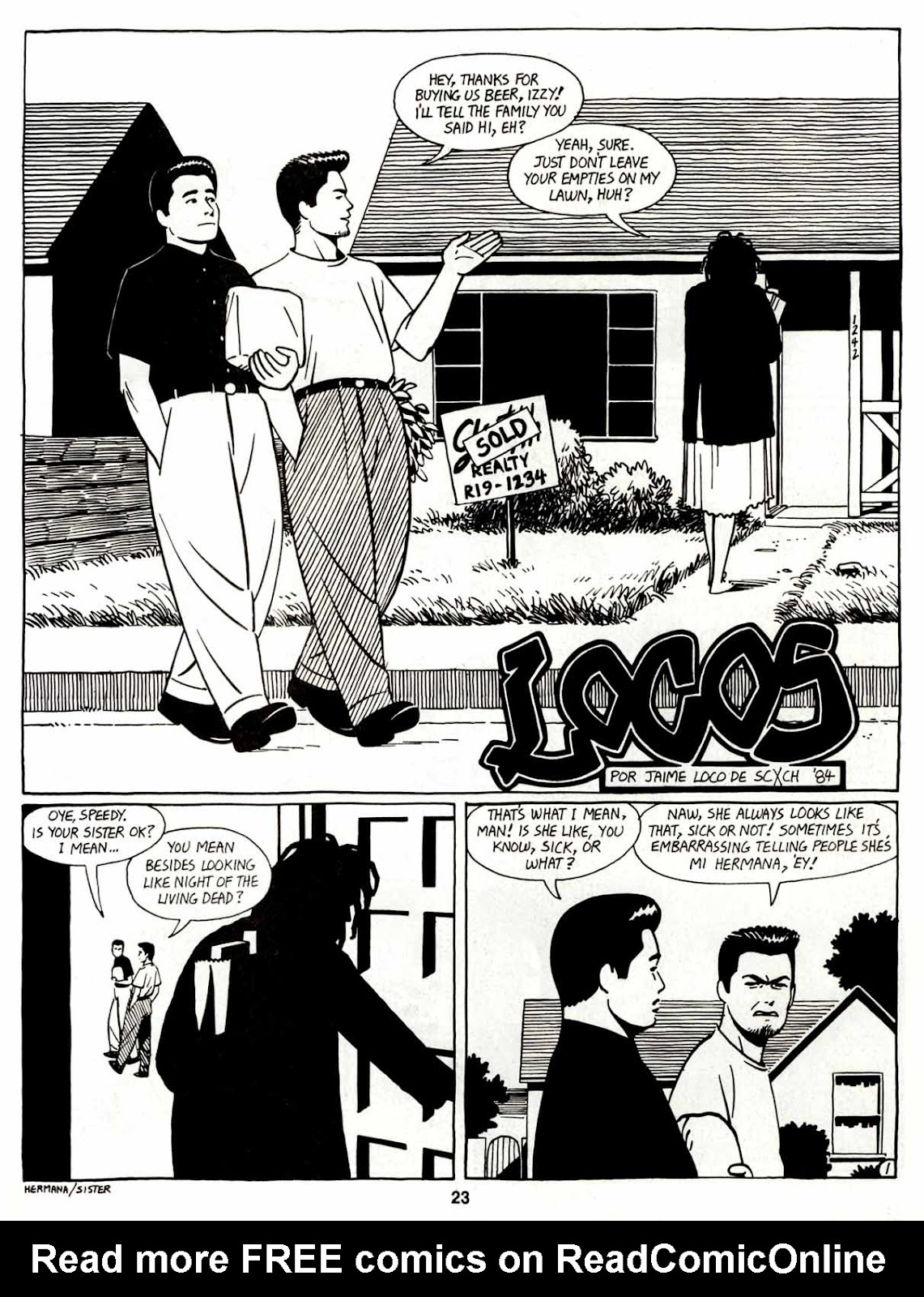 Love and Rockets (1982) Issue #7 #6 - English 25