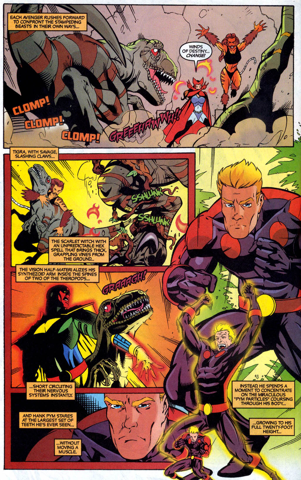 Read online Avengers United They Stand comic -  Issue #7 - 4