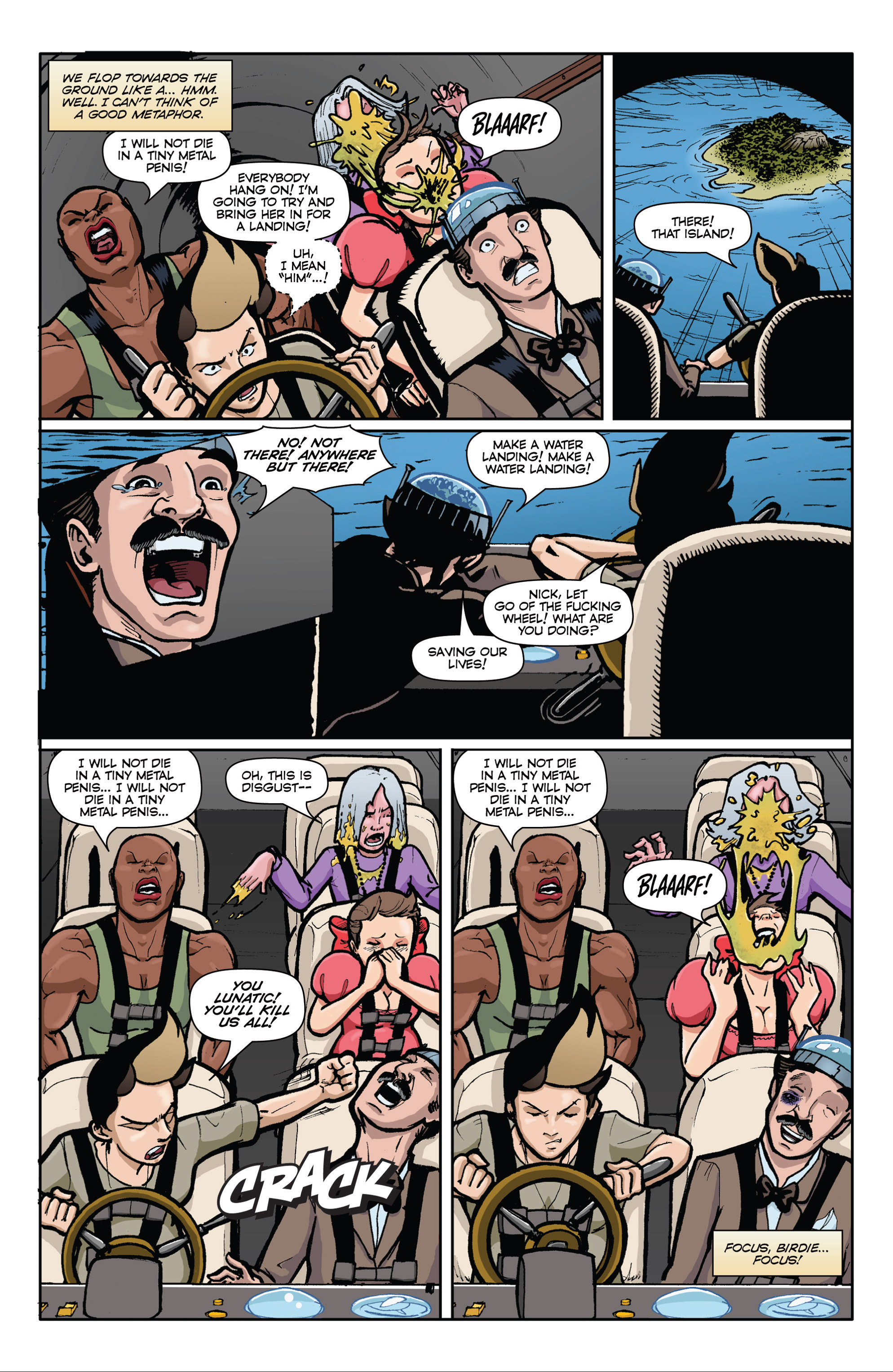 Read online Pregnant Bitches of War comic -  Issue #3 - 20