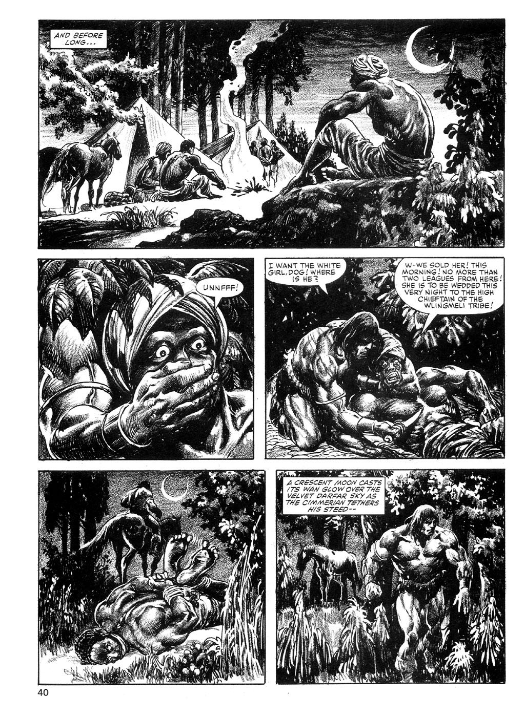 The Savage Sword Of Conan Issue #89 #90 - English 40