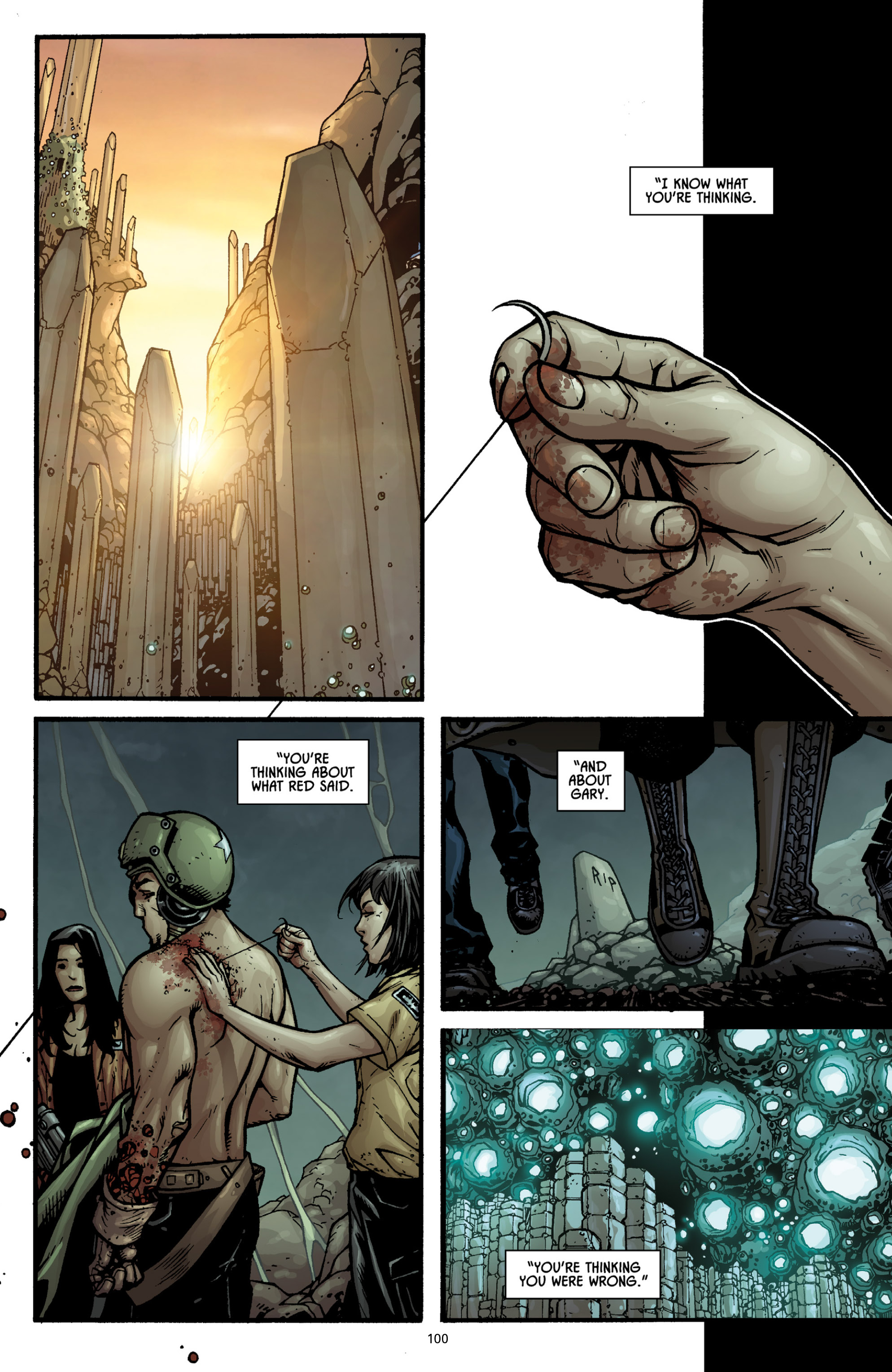 Aliens (2009) TPB Page 94