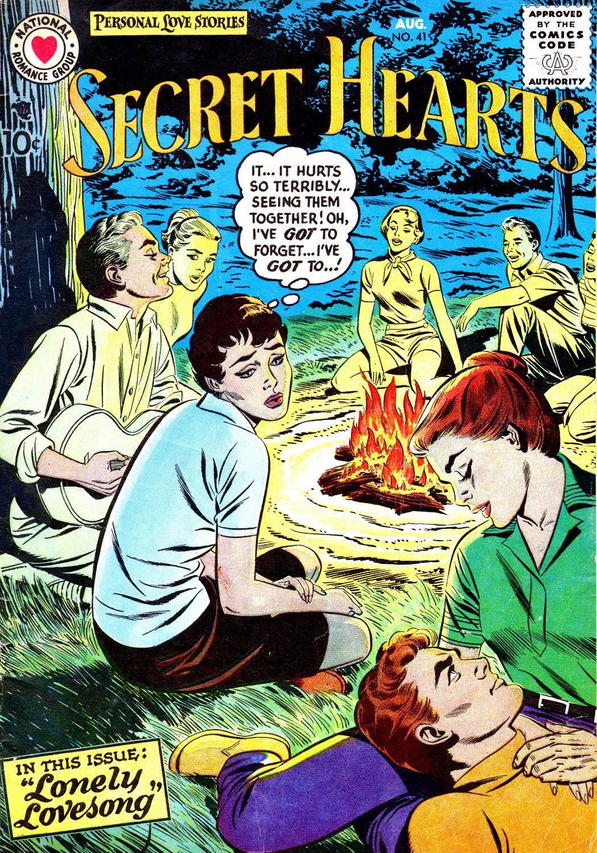 Read online Secret Hearts comic -  Issue #41 - 1
