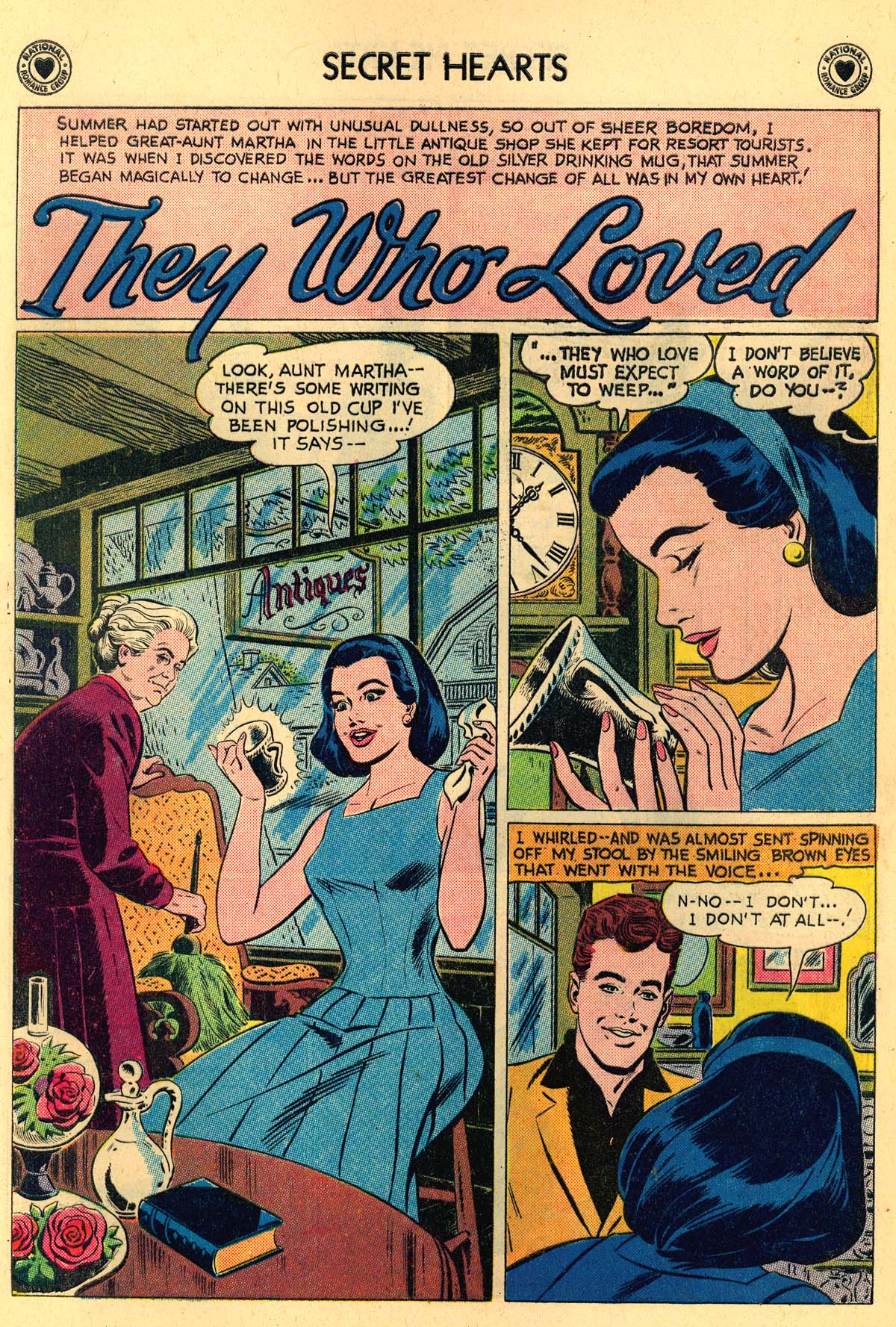 Read online Secret Hearts comic -  Issue #55 - 12