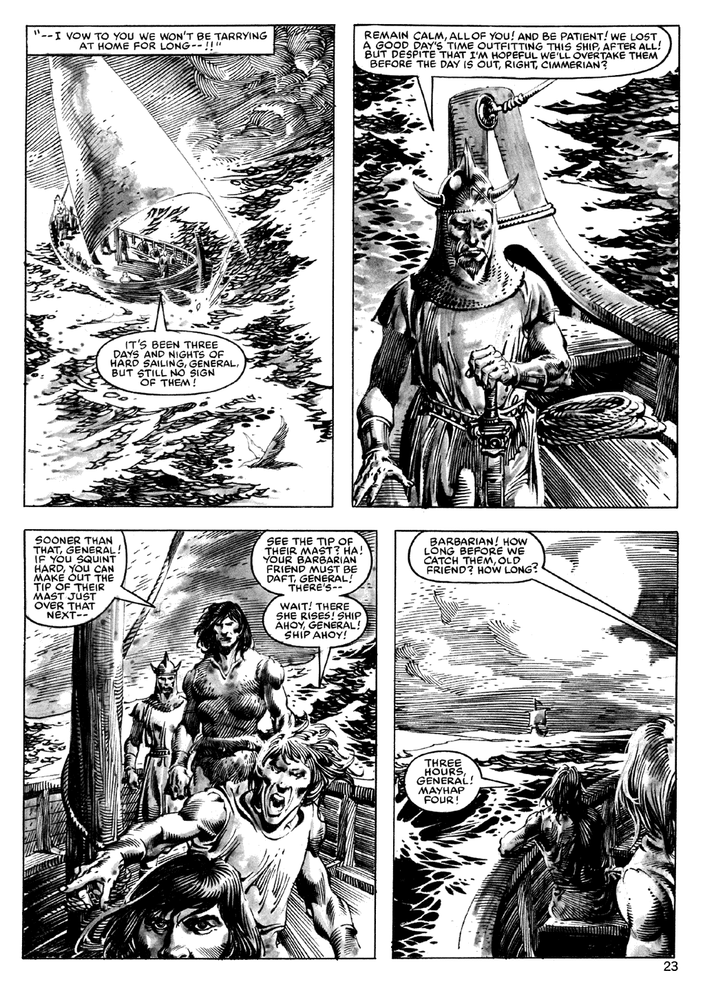 The Savage Sword Of Conan Issue #101 #102 - English 23