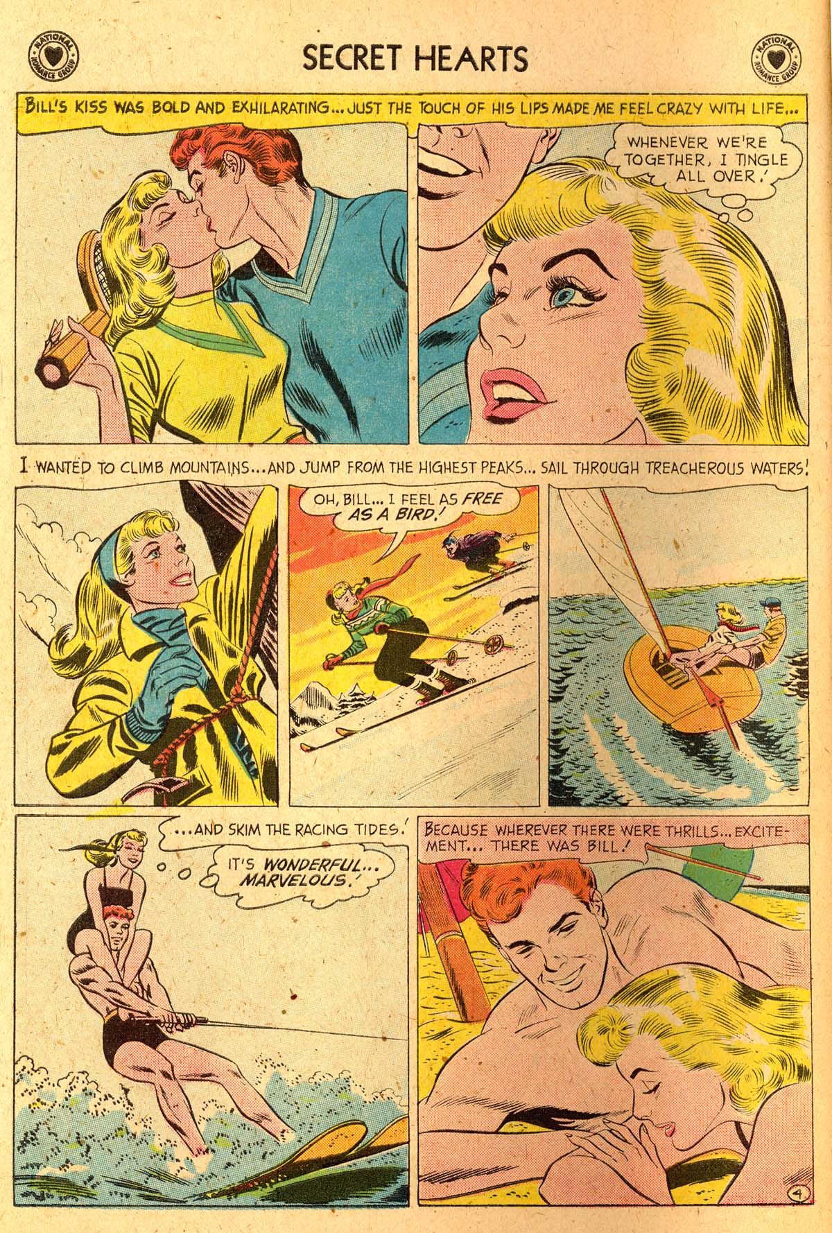 Read online Secret Hearts comic -  Issue #52 - 6