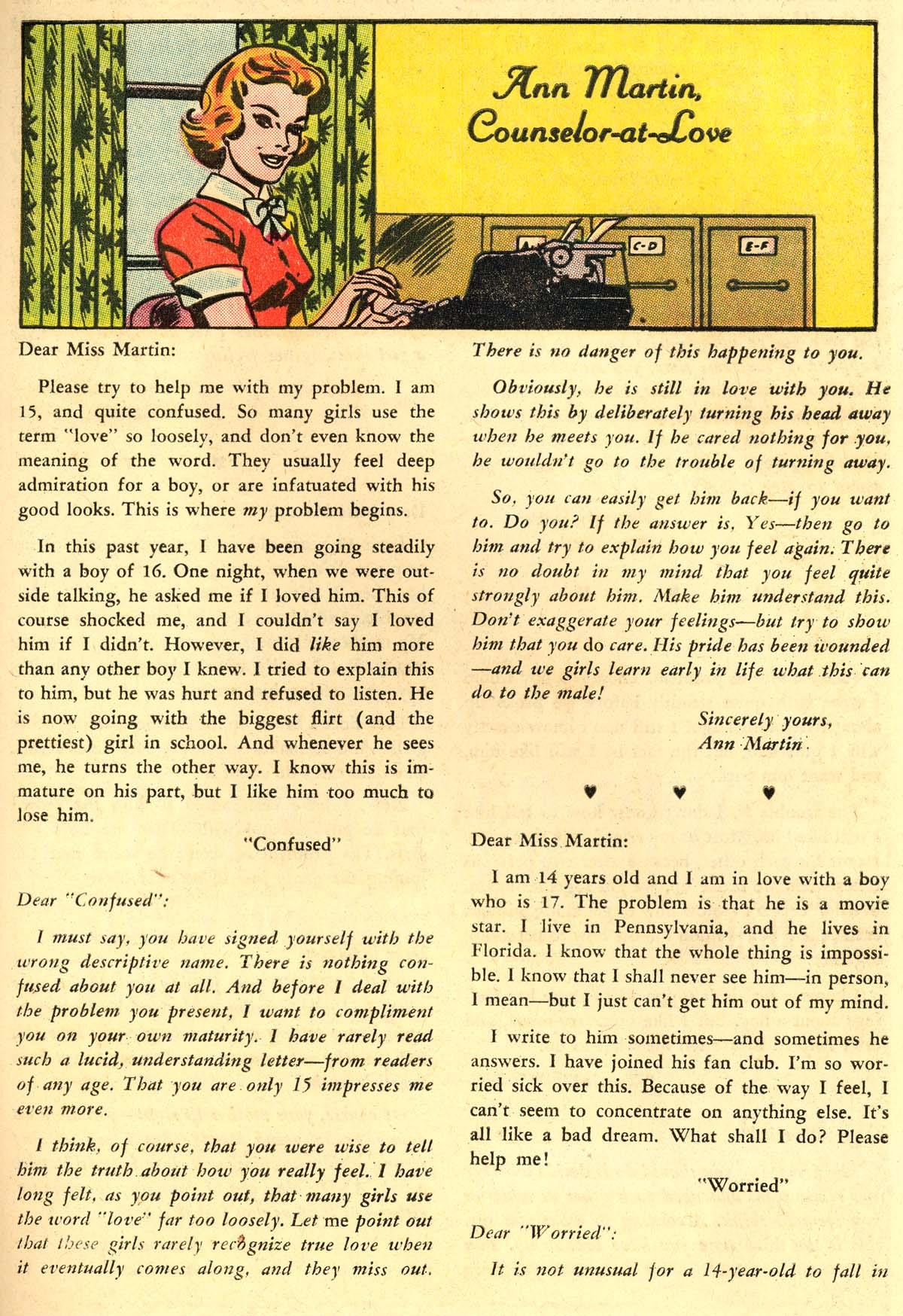 Read online Secret Hearts comic -  Issue #106 - 33