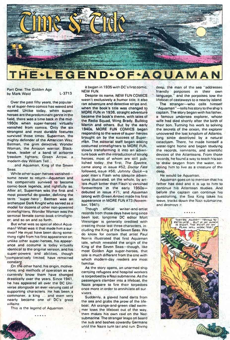 Aquaman (1989) Issue #1 #1 - English 24