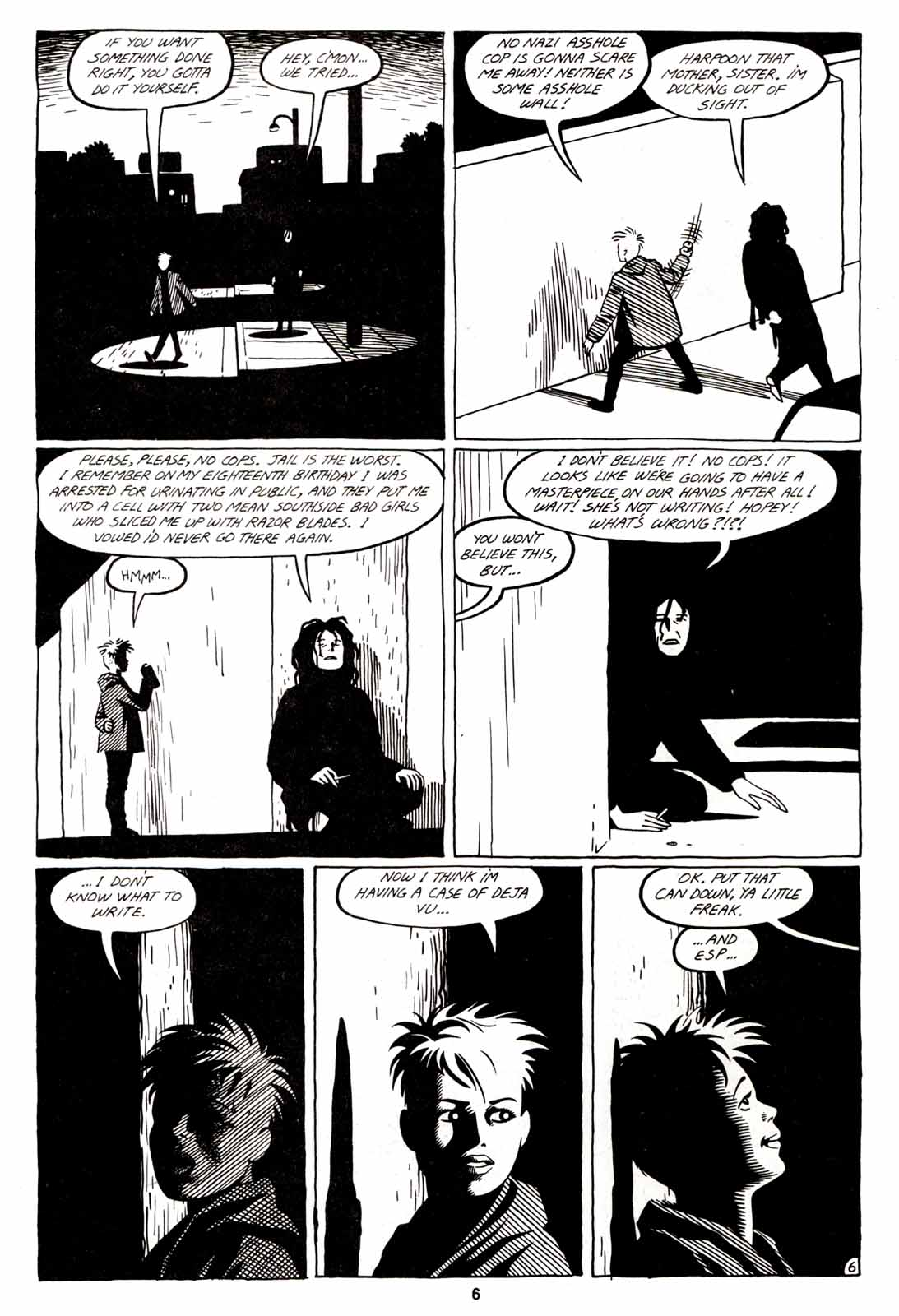 Love and Rockets (1982) Issue #5 #4 - English 8