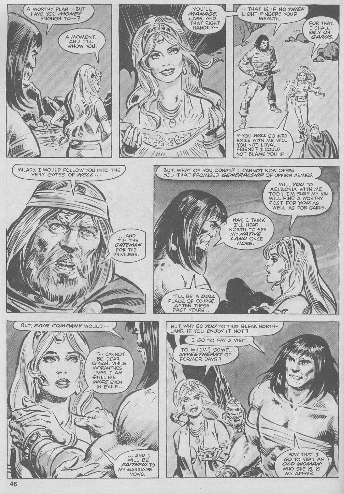 The Savage Sword Of Conan Issue #44 #45 - English 46